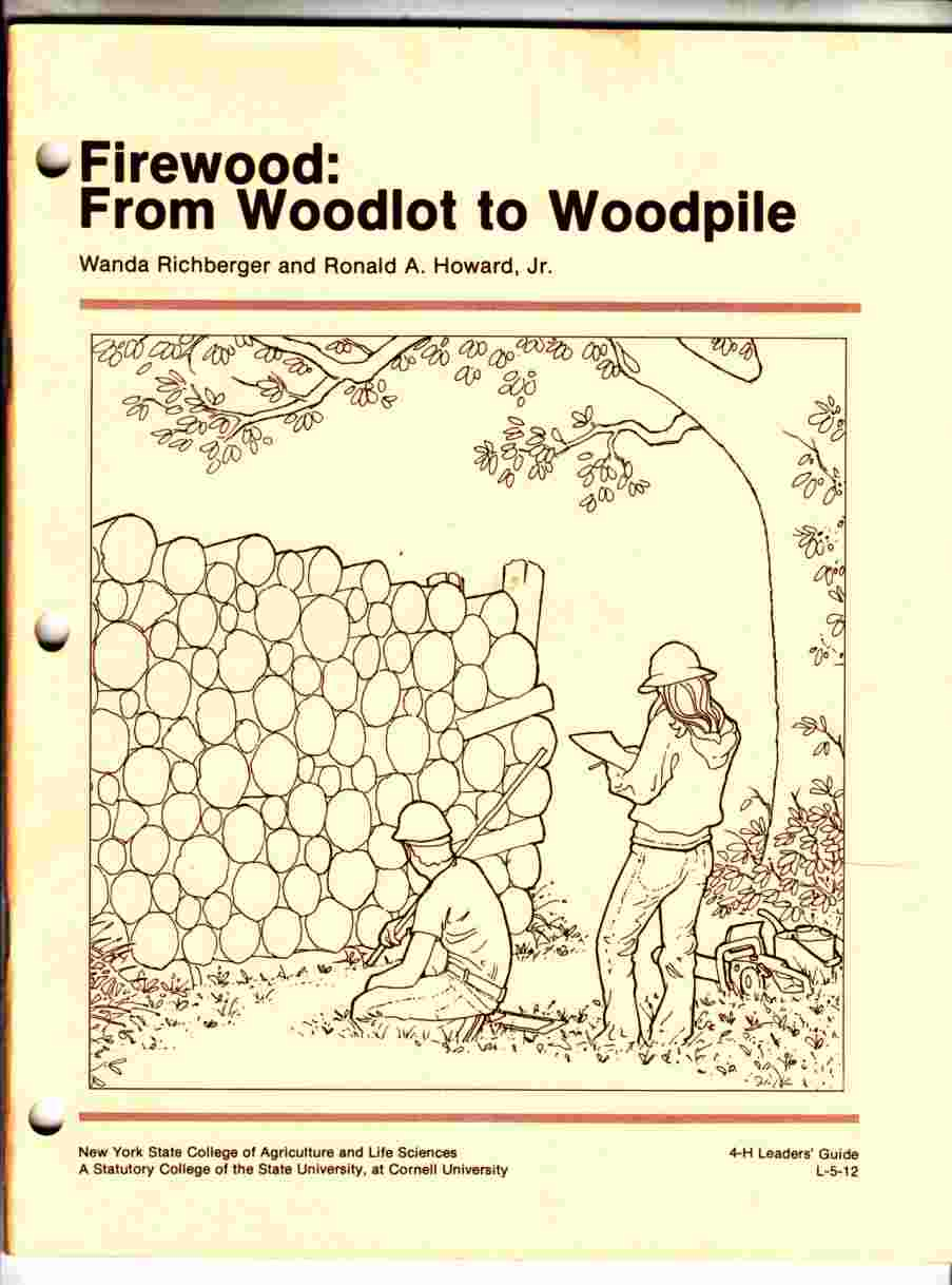 Image for Firewood: from Woodlot to Woodpile