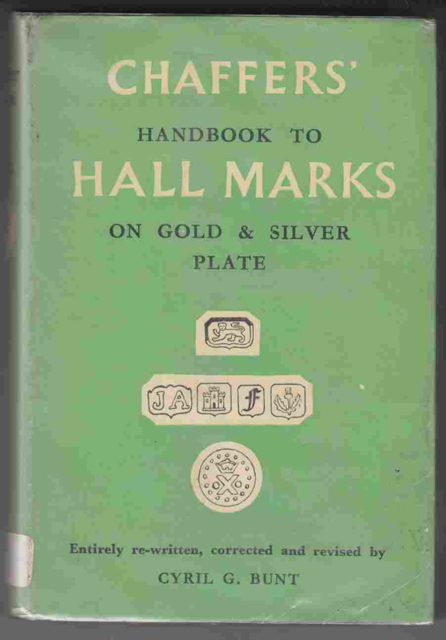 Image for Chaffers' Handbook to Hall Marks on Gold & Silver Plate Great Britain and Ireland