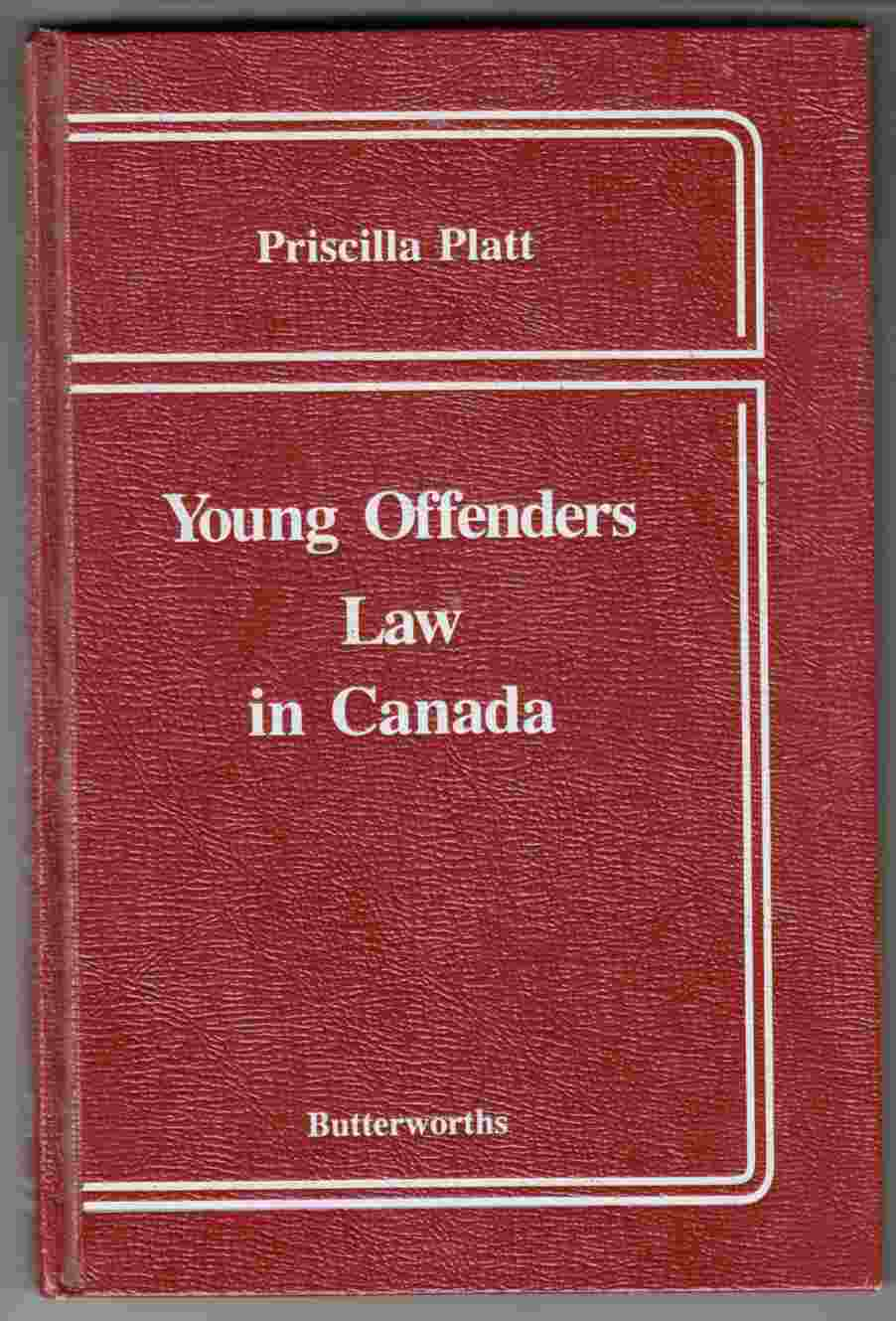 Image for Young Offenders Law in Canada
