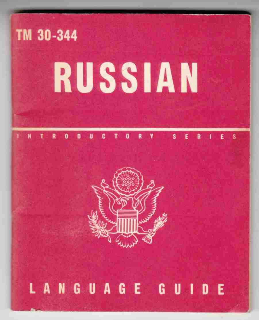 Image for Russian A Guide to the Spoken Language TM 30-344