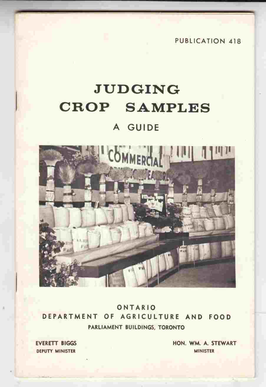 Image for Judging Crop Samples A Guide