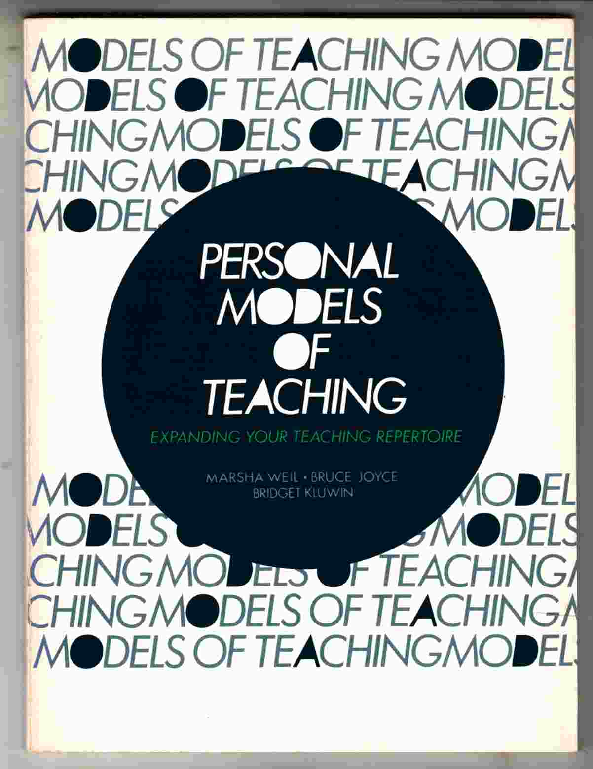 Image for Personal Models of Teaching