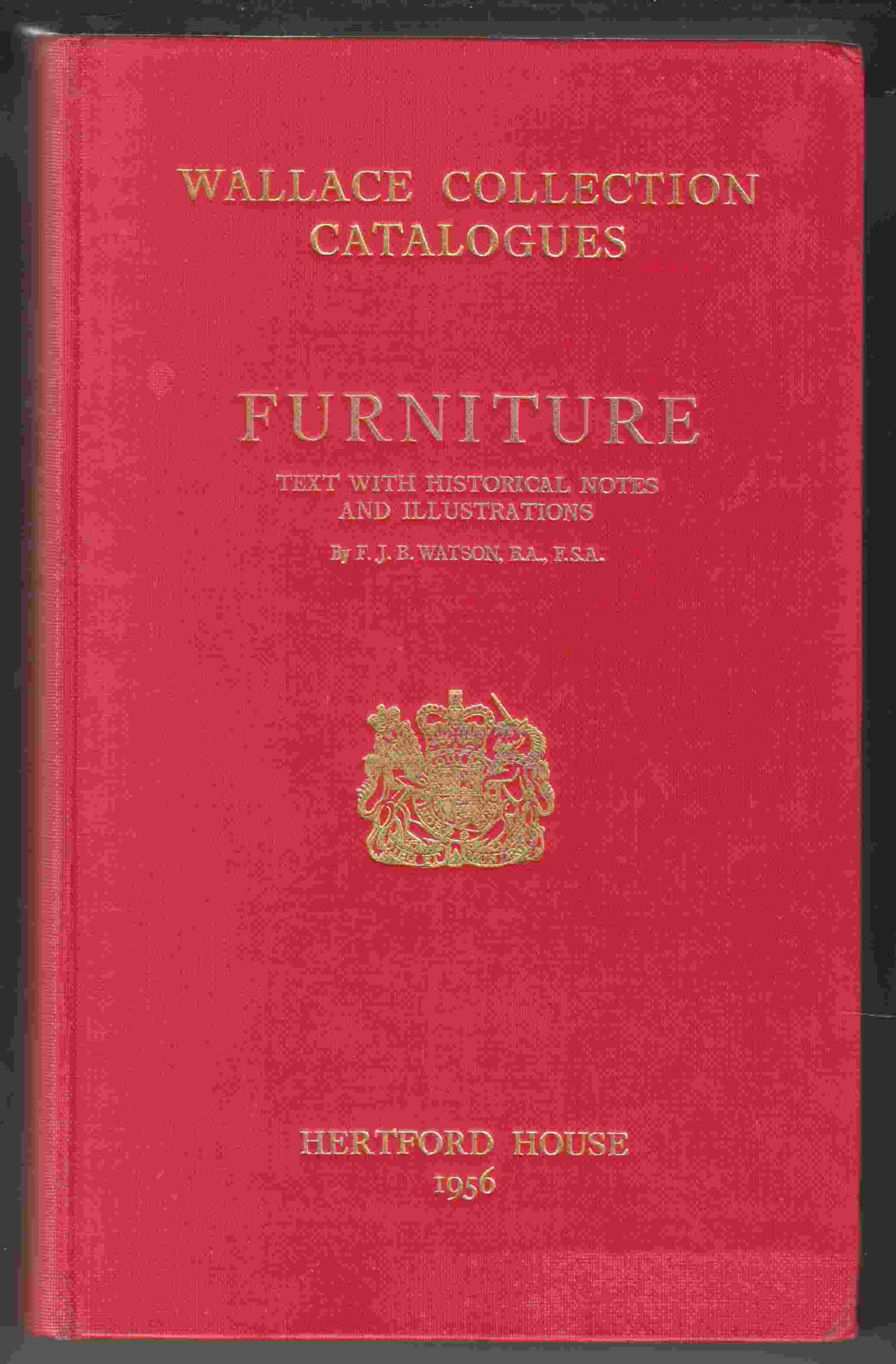 Image for Wallace Collection Catalogues Furniture