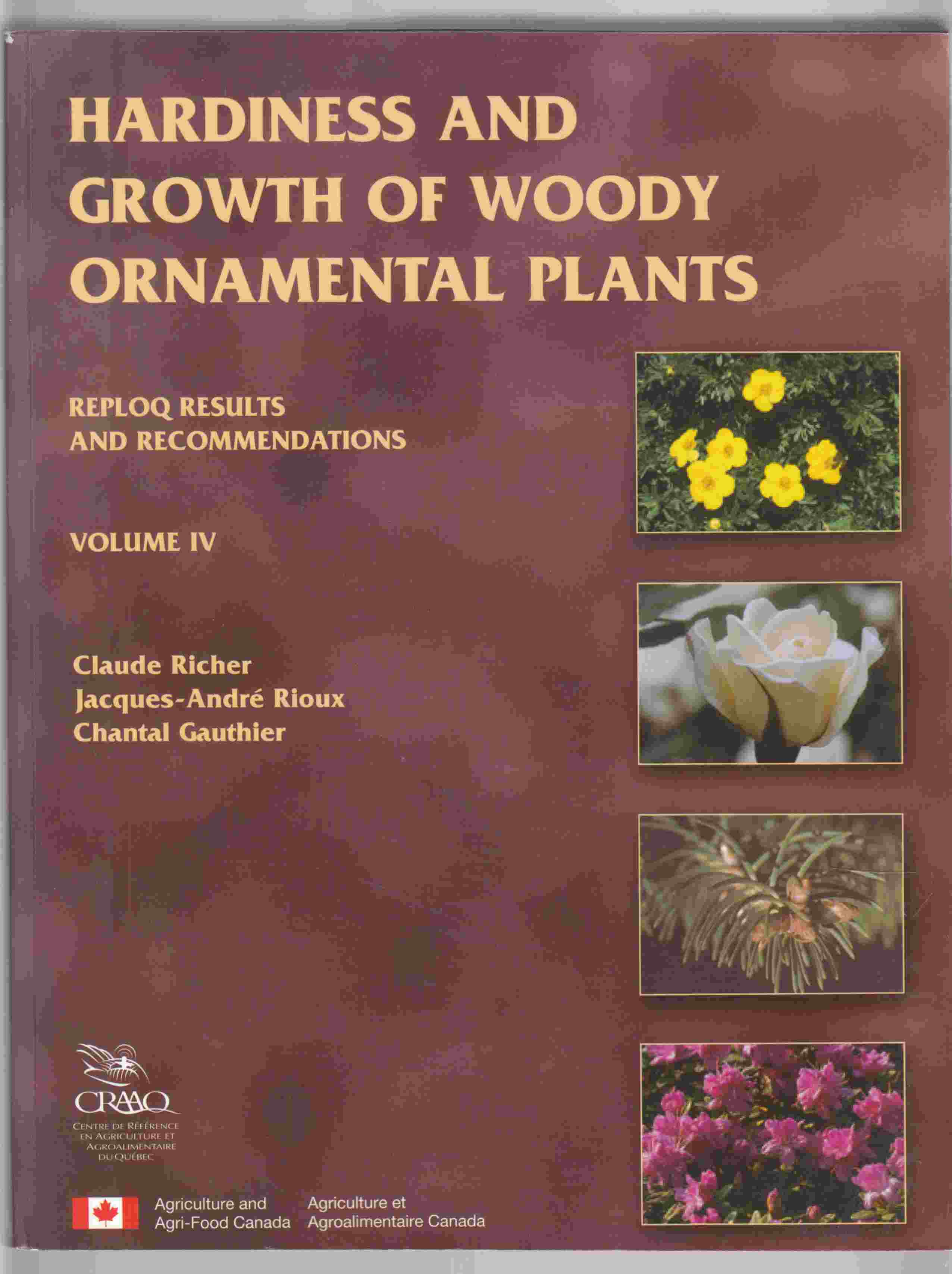 Image for Hardiness and Growth of Woody Ornamental Plants Volume IV REPLOQ Results and Recommendations