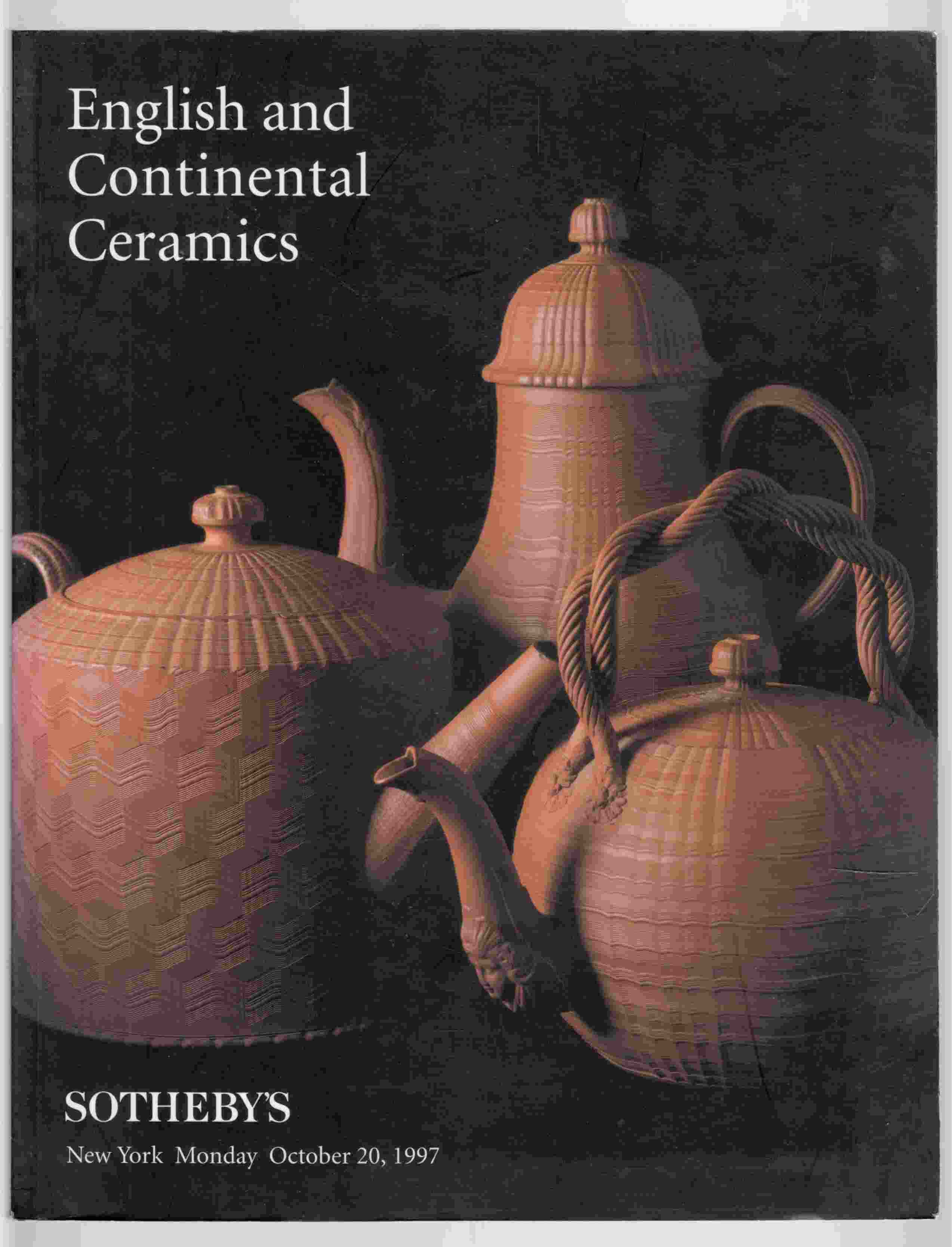 Image for English and Continental Ceramics