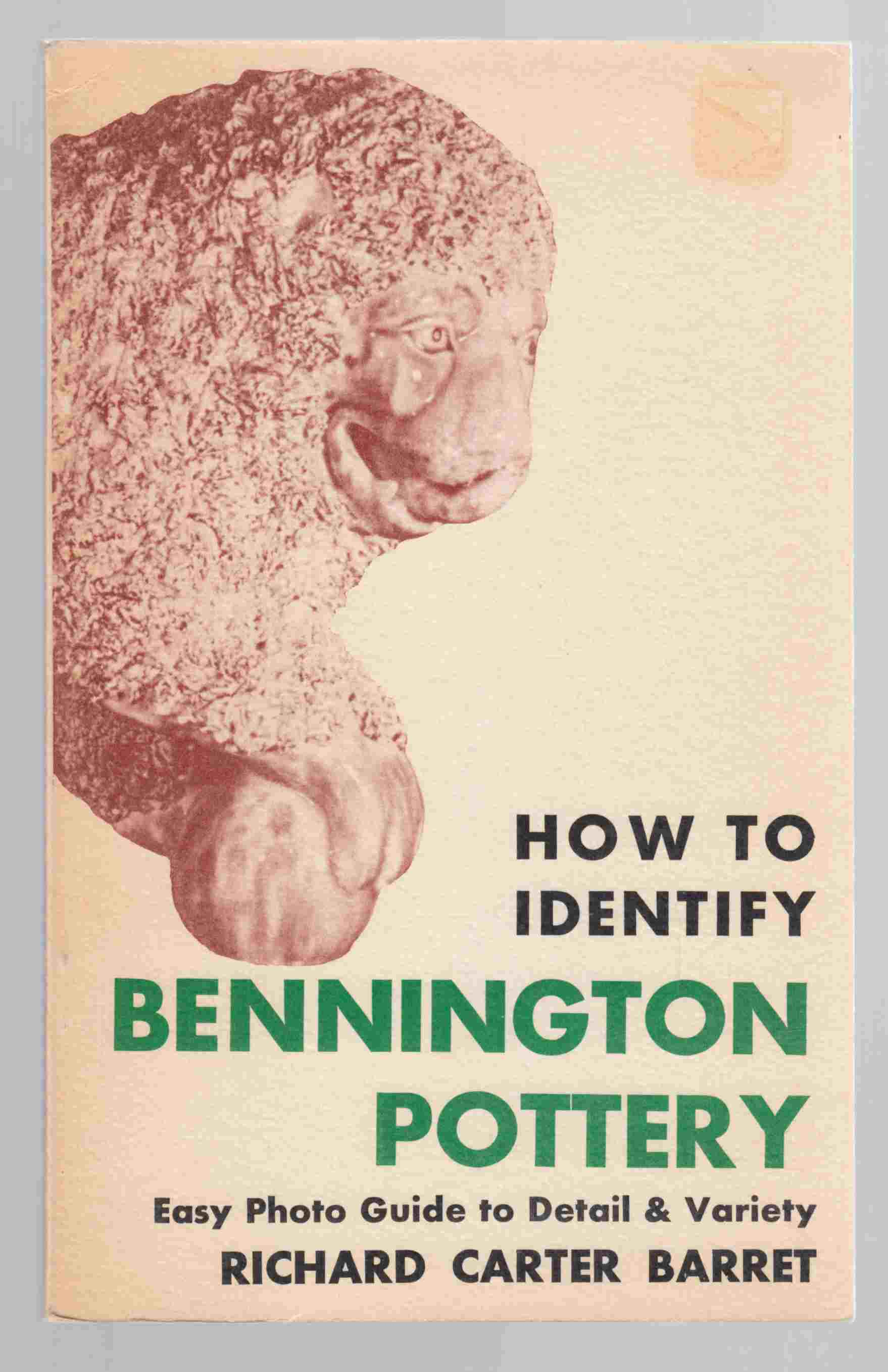 Image for How to Identify Bennington Pottery