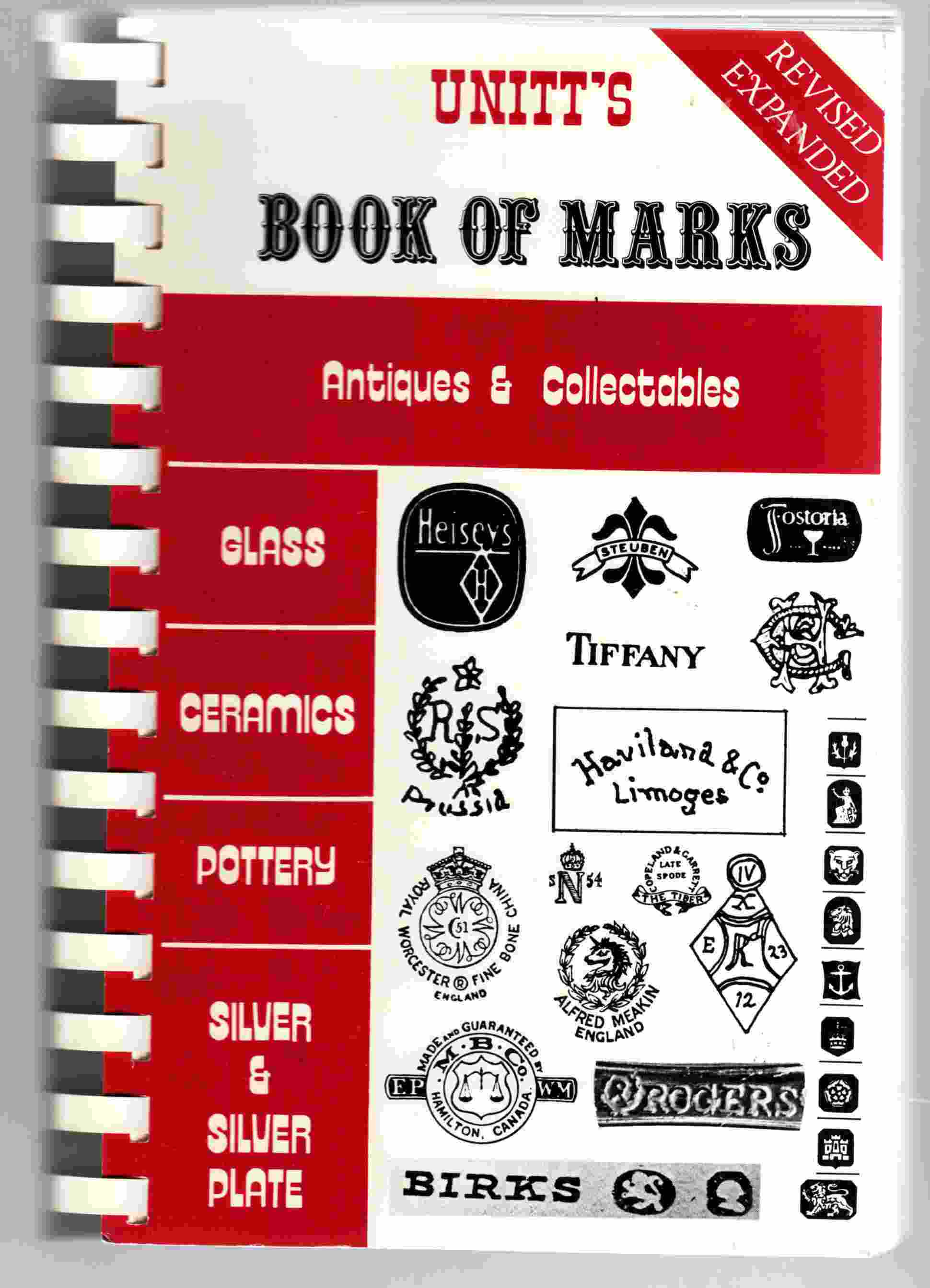 Image for Unitt's Book of Marks Antiques & Collectables
