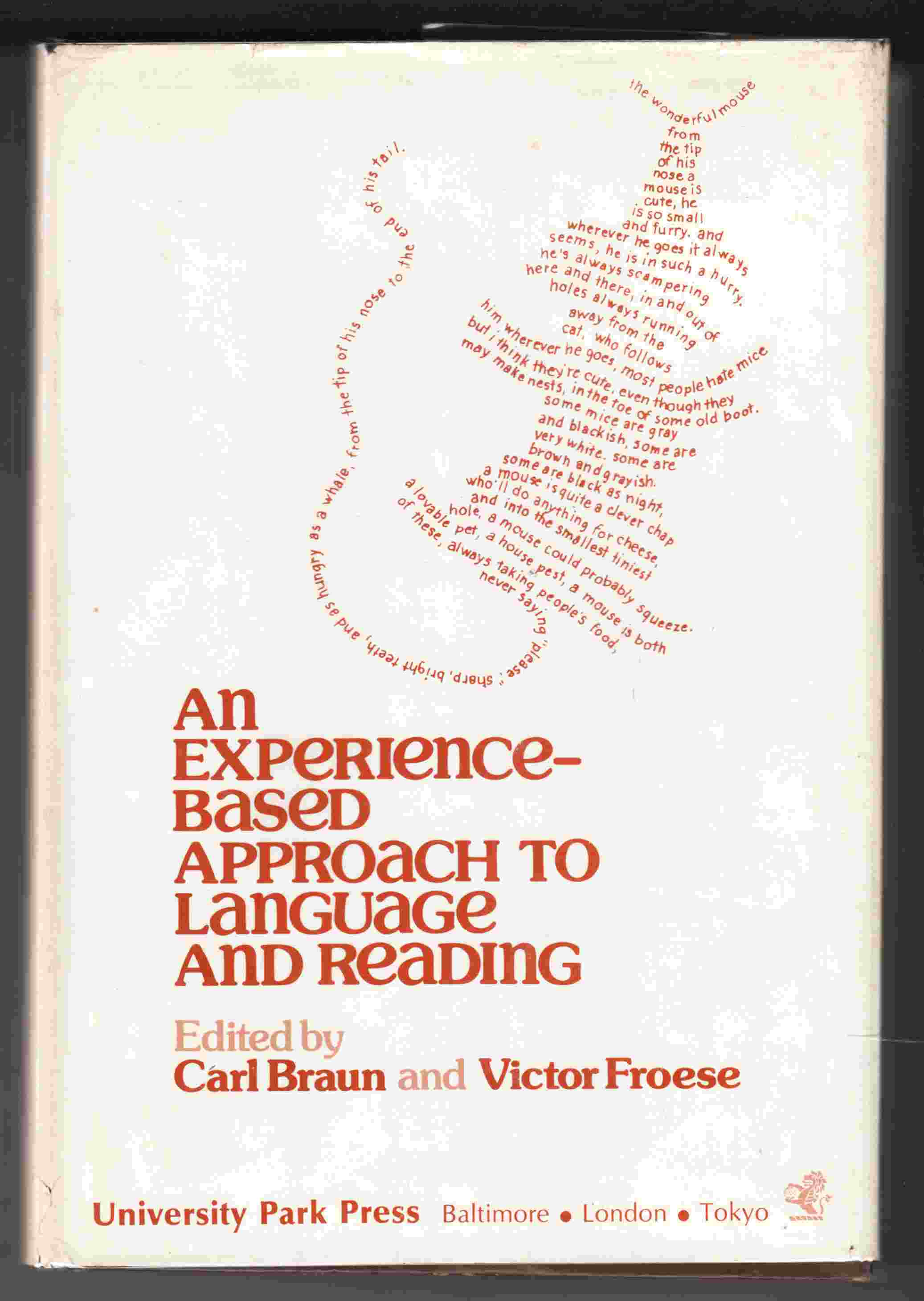 Image for An Experience-Based Approach to Language and Reading