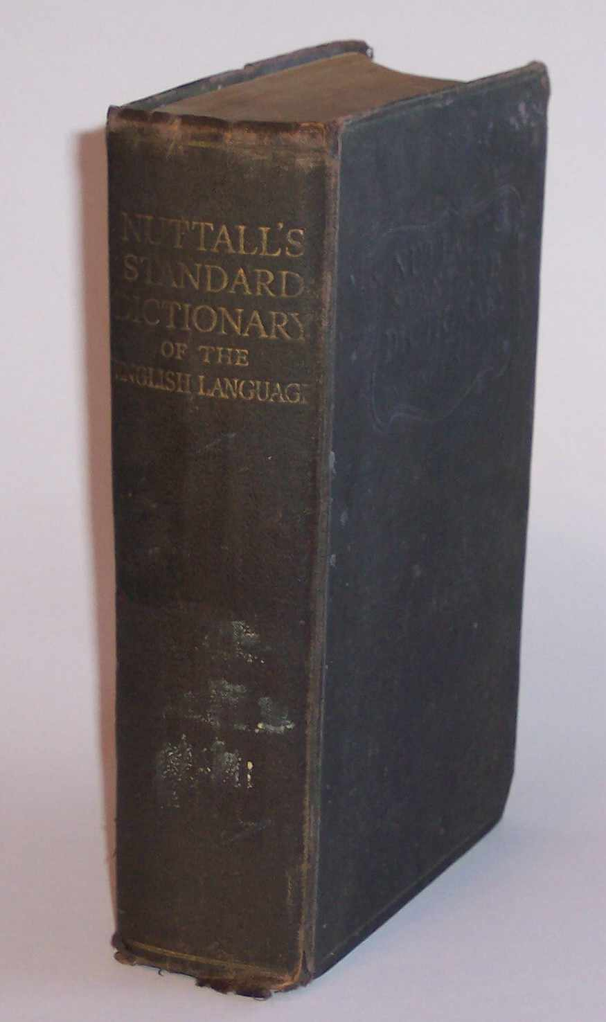 Image for Nuttall's Standard Dictionary of the English Language