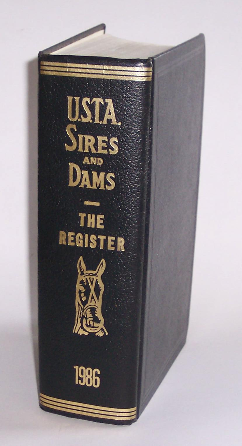 Image for Standardbred Sires and Dams Combined with the Trotting Register Volume 75 of the Trotting Register for 1986