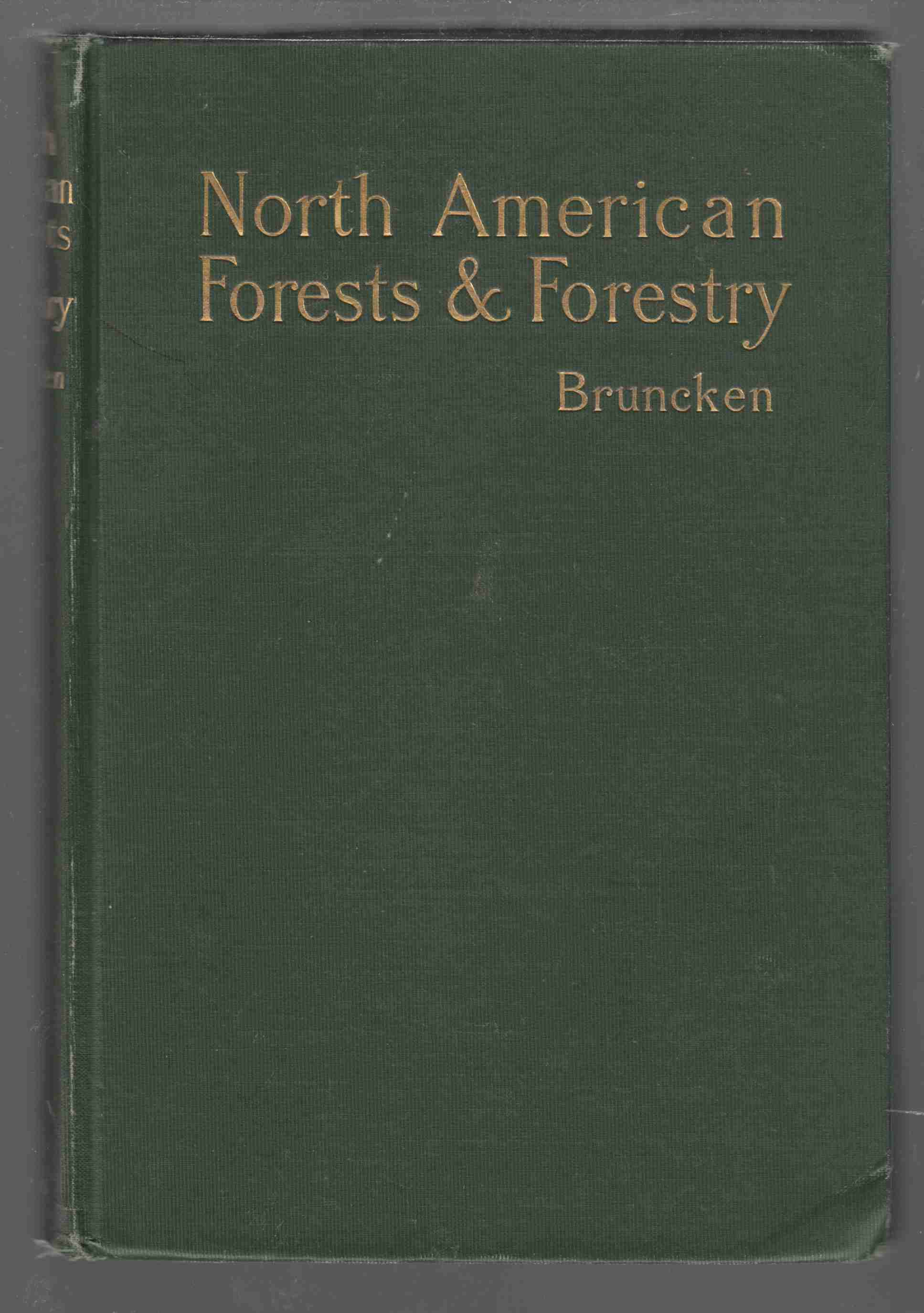 Image for North American Forests and Forestry Their Relations Fo the National Life of the American People
