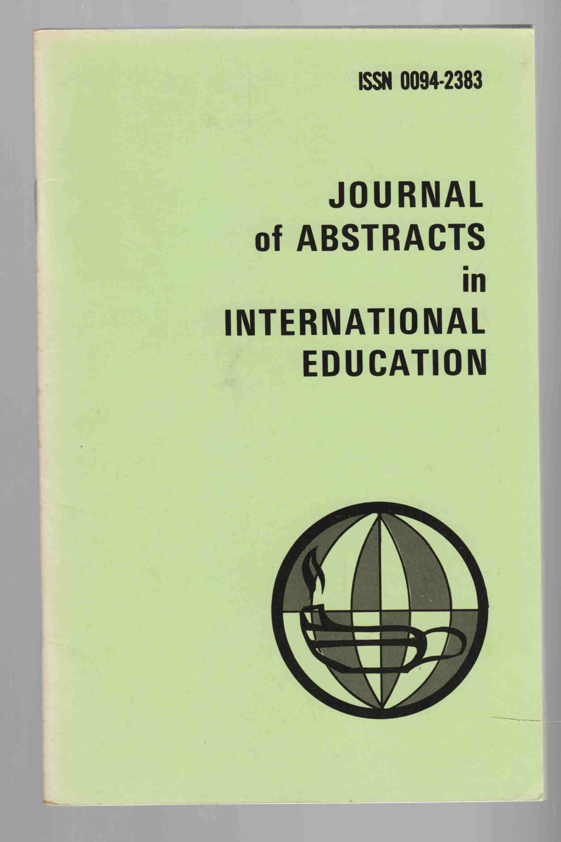 Image for Journal of Abstracts in International Education Vol. 7 No. 2 Spring / Summer 1978