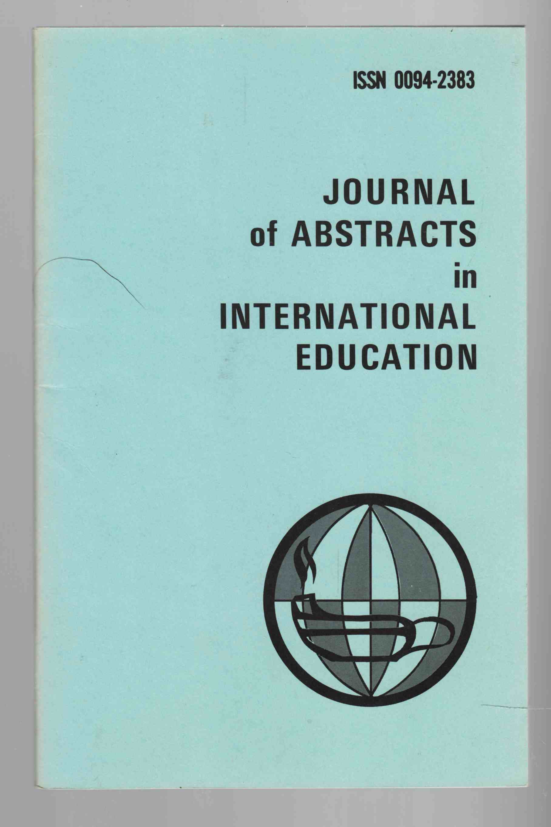 Image for Journal of Abstracts in International Education Vol. 5 No. 1 Fall / Winter 1975