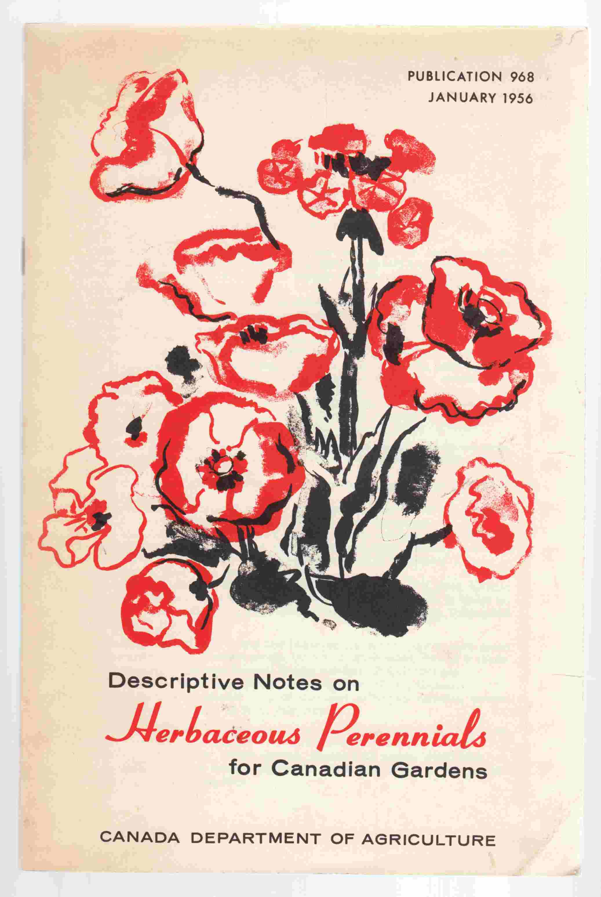 Image for Descriptive Notes on Herbaceous Perennials for Canadian Gardens
