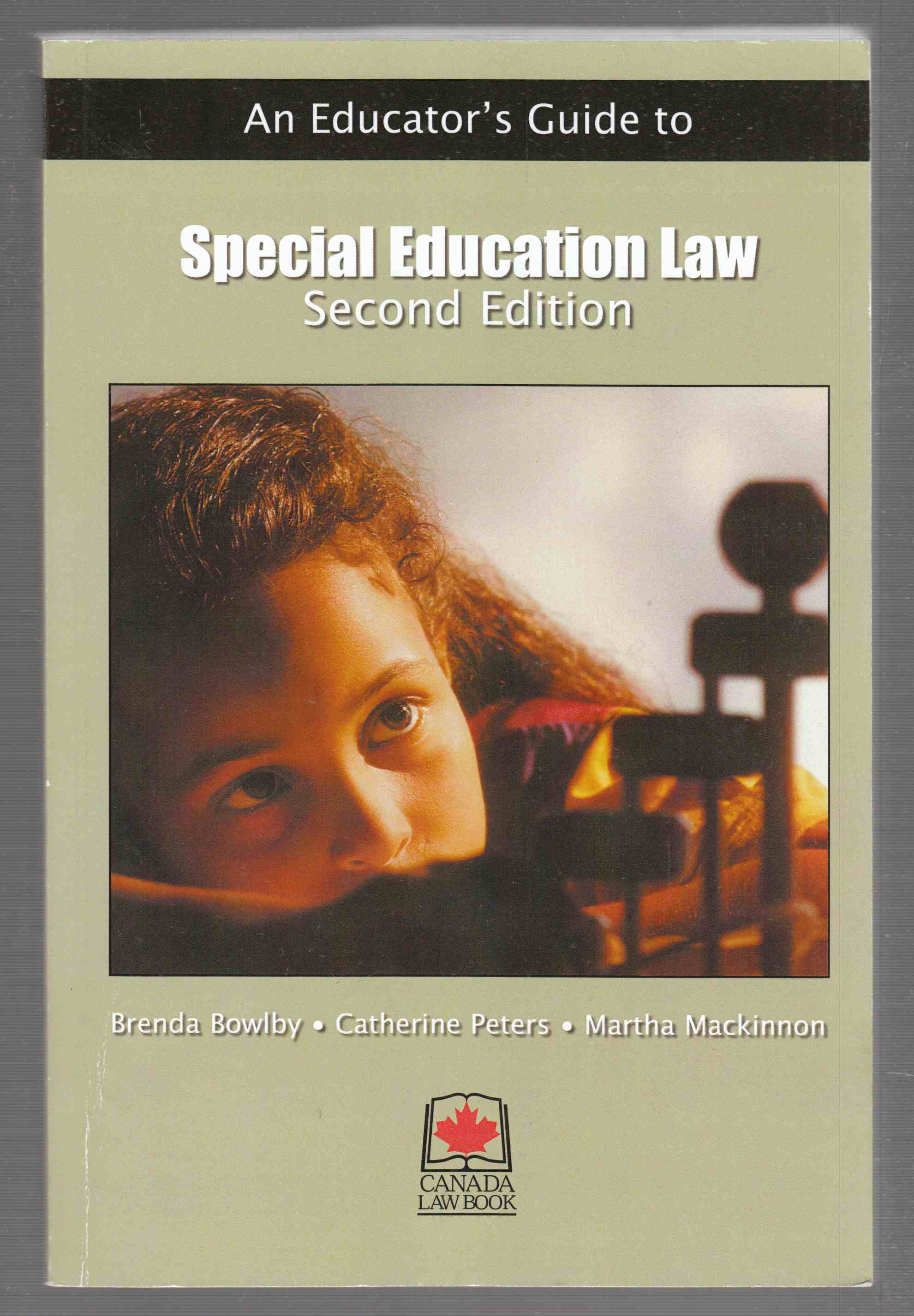 Image for An Educator's Guide to Special Education Law Second Edition