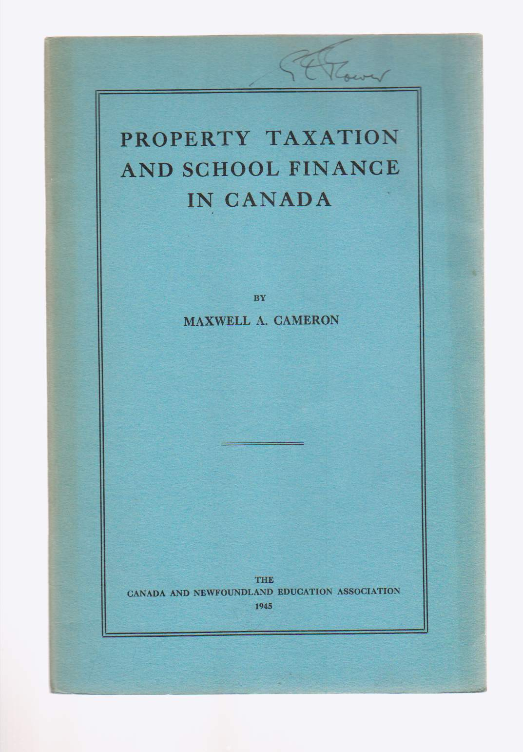 Image for Property Taxation and School Finance in Canada
