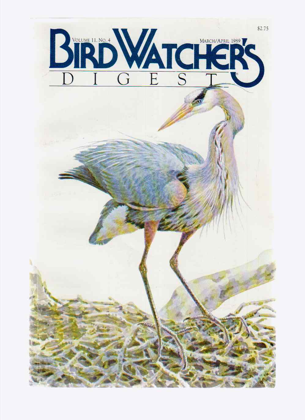 Image for Bird Watcher's Digest March/april 1989 Vol.11 No. 5