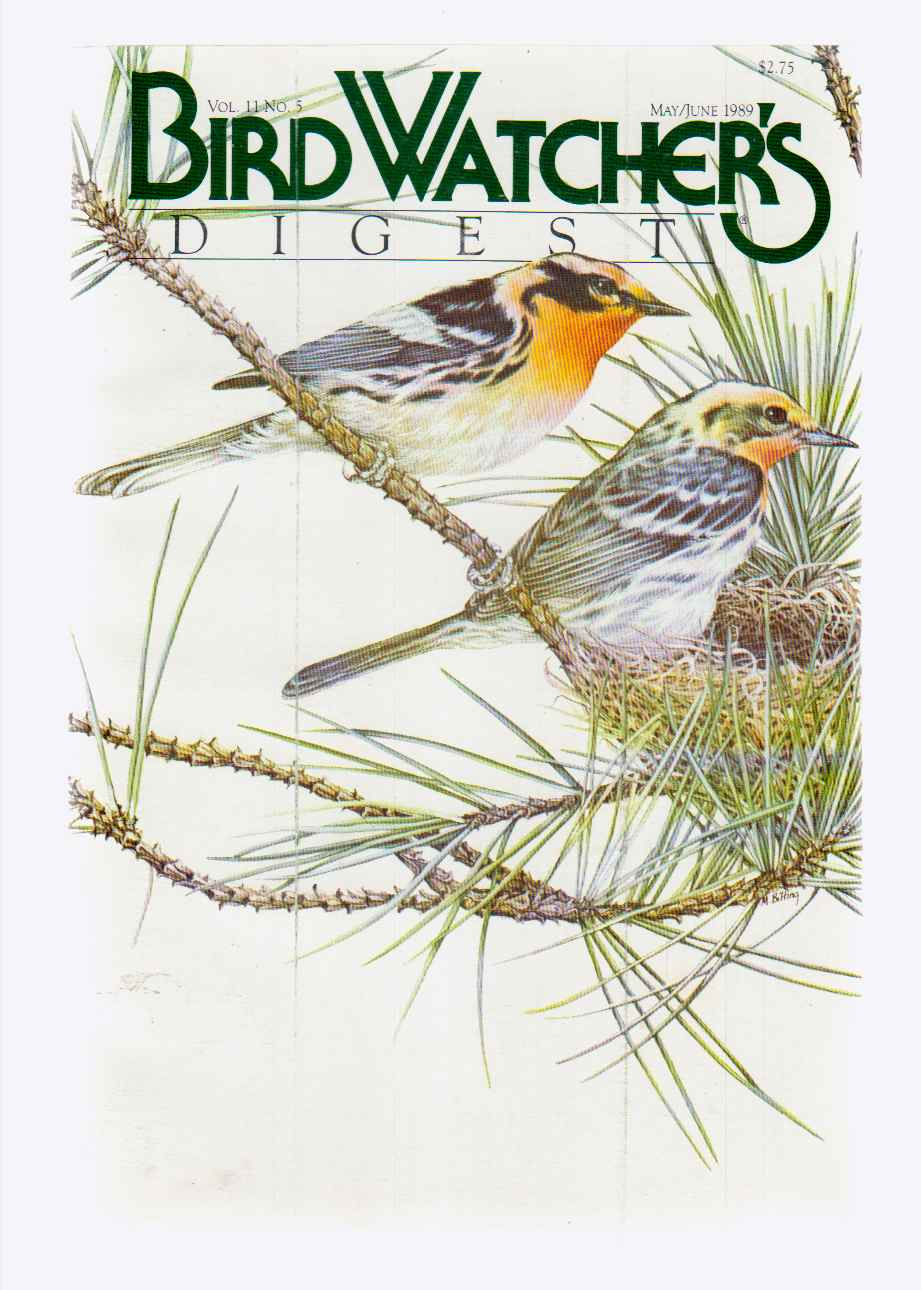 Image for Bird Watcher's Digest May/june 1989 Vol. 11 No. 5