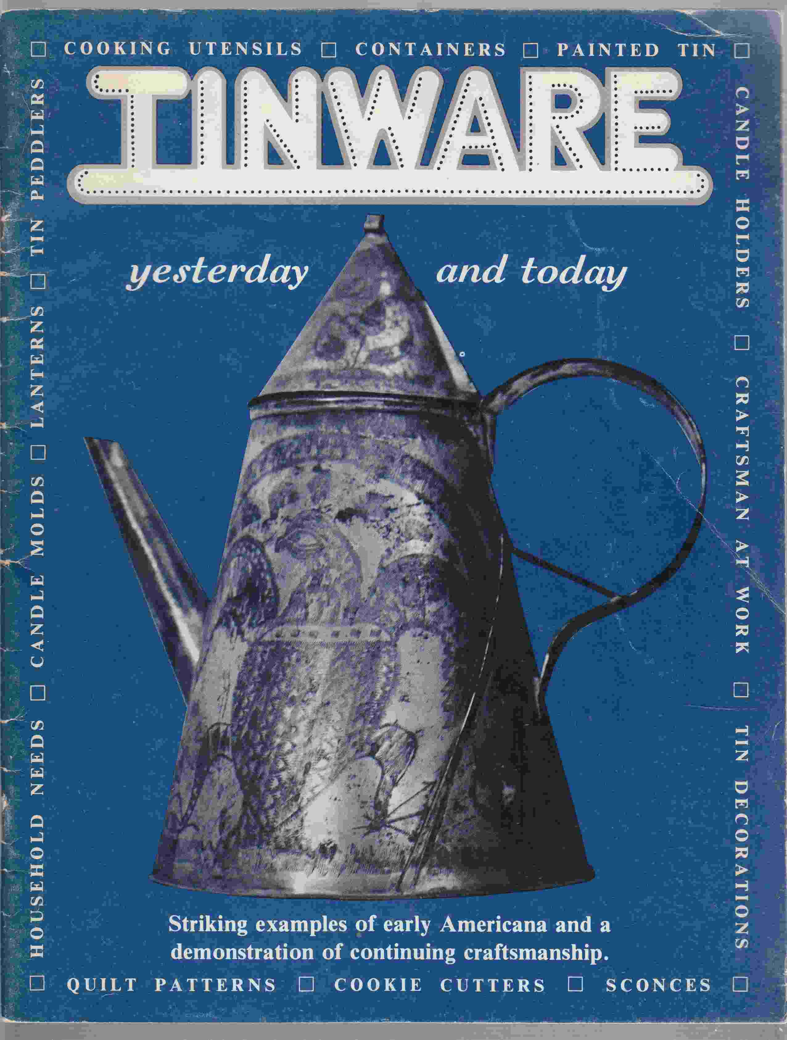 Image for Tinware Yesterday and Today