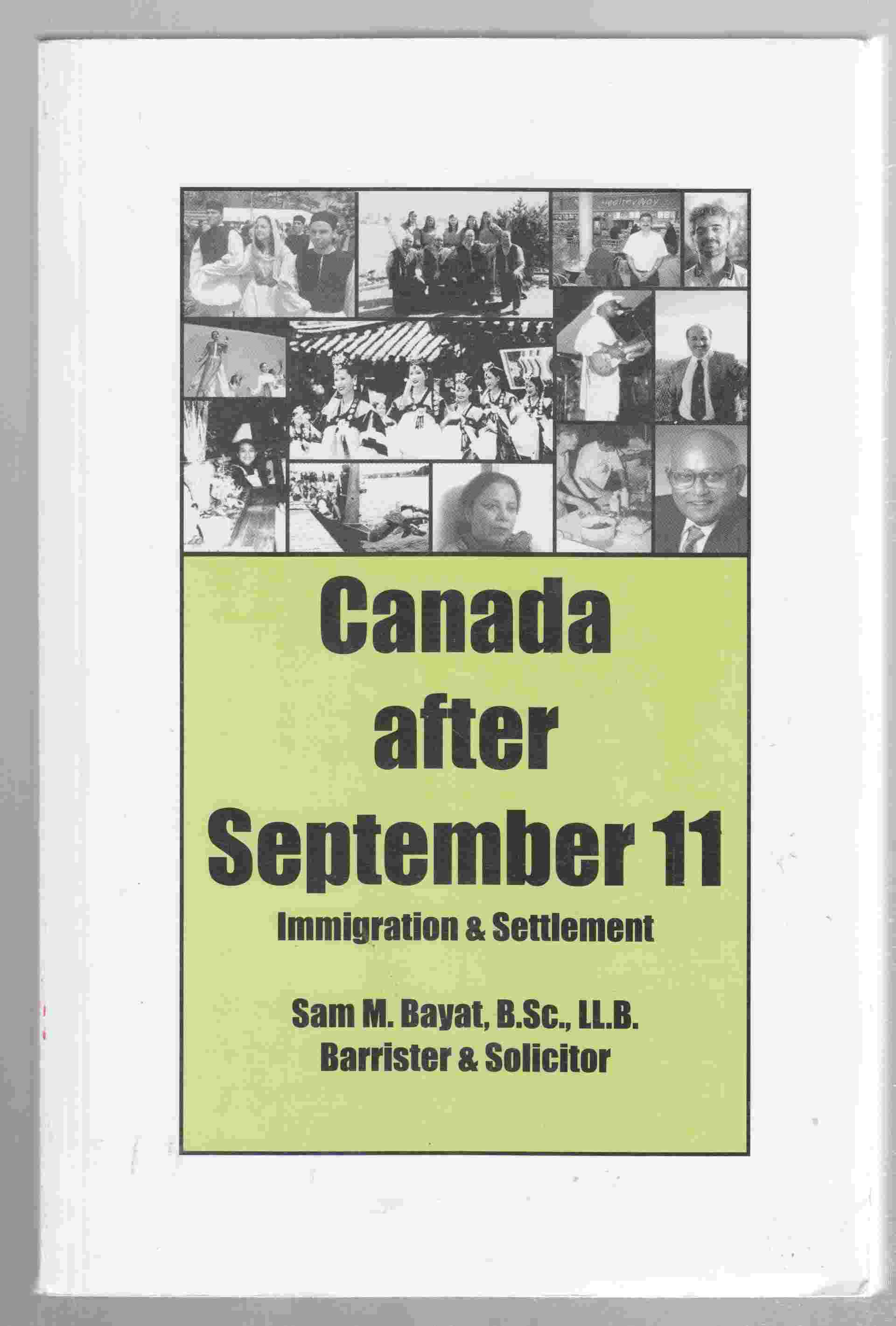 Image for Canada after September 11 Immigration & Settlement