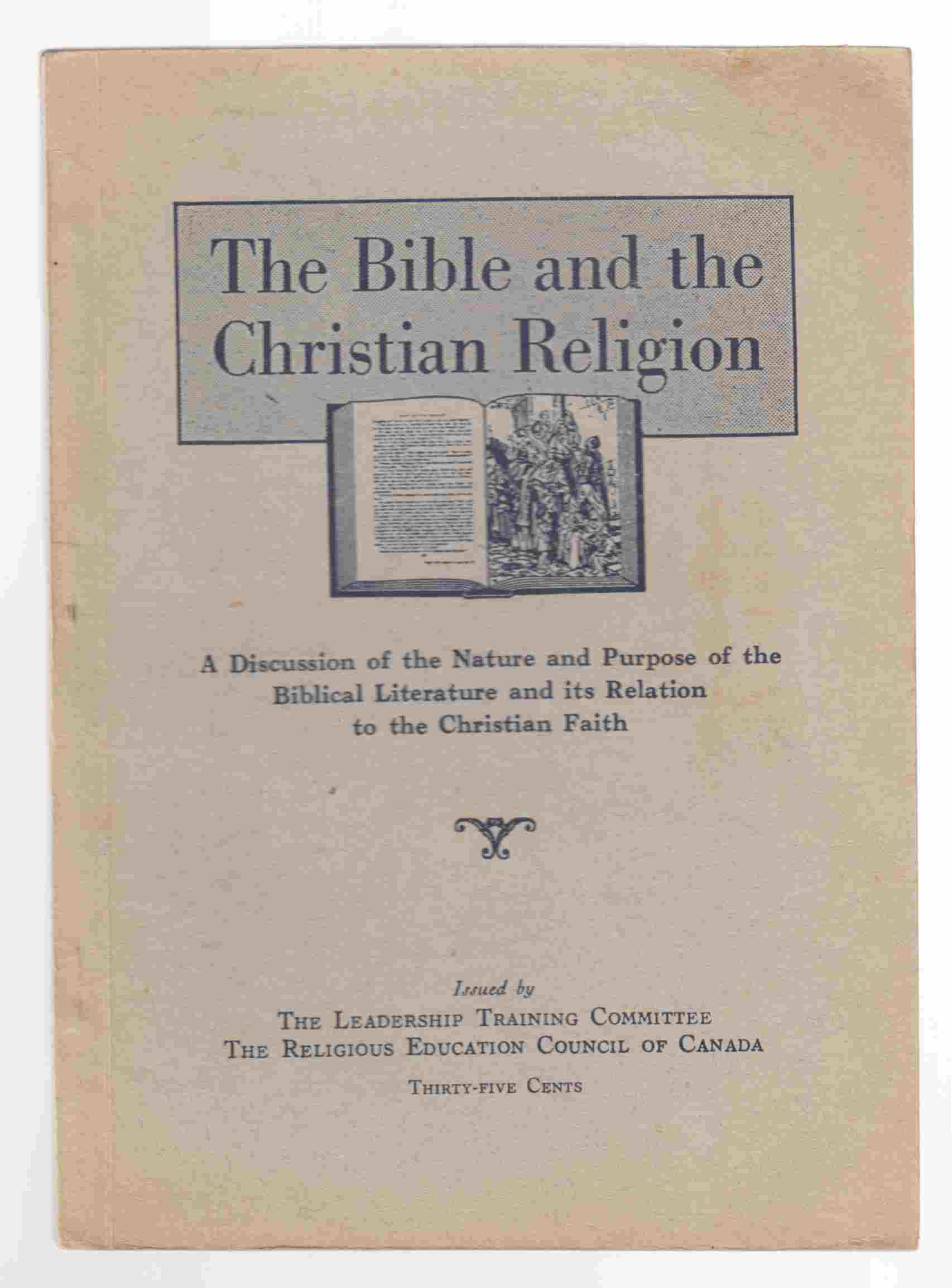 Image for The Bible and the Christian Religion