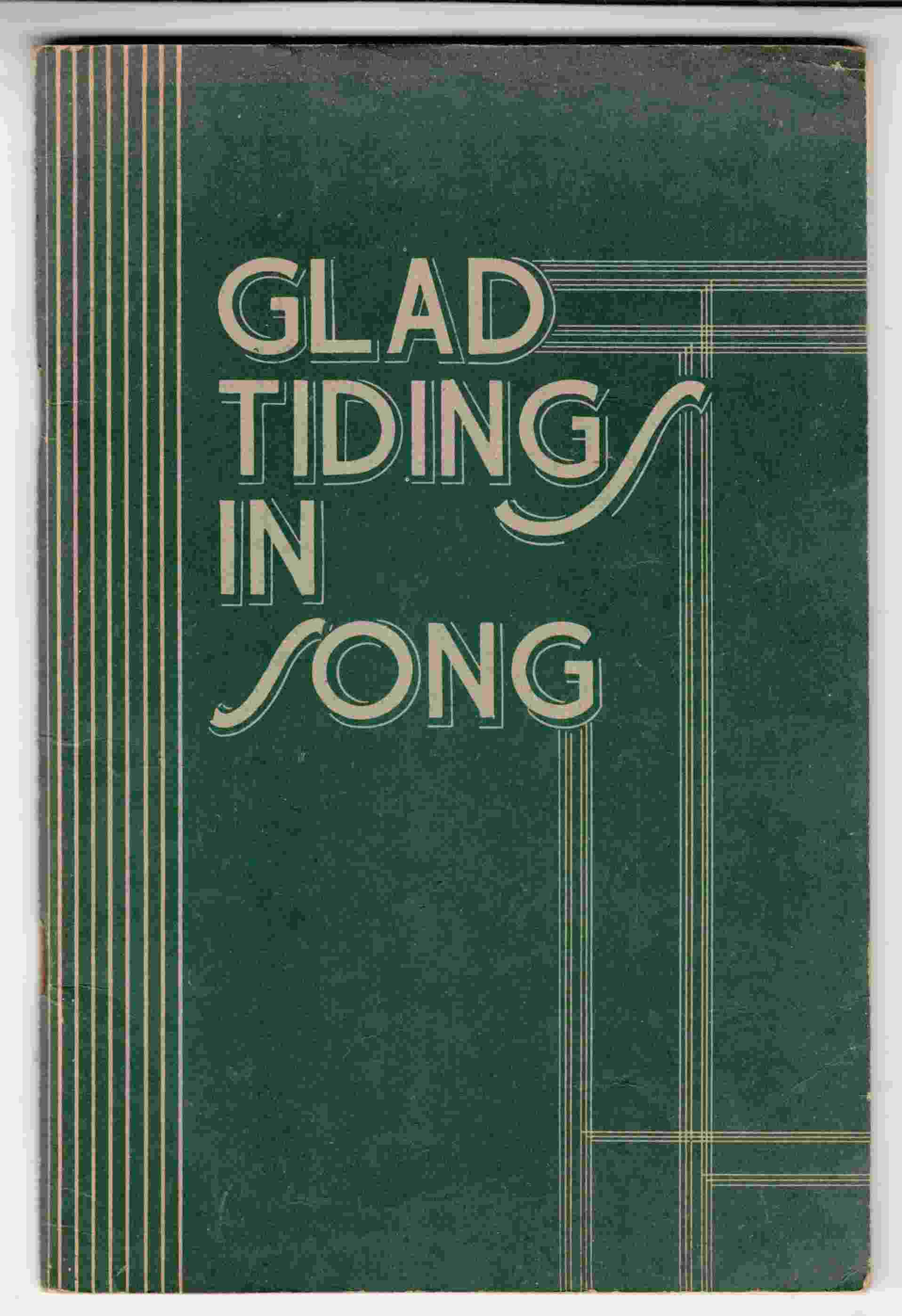 Image for Glad Tidings in Song