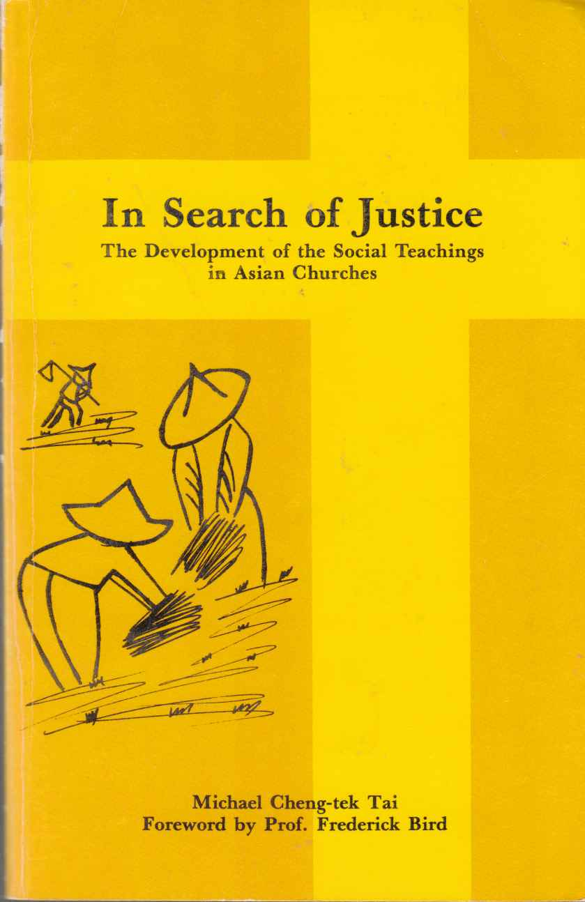 Image for In Search of Justice The Development of the Social Teachings in Asian Churches