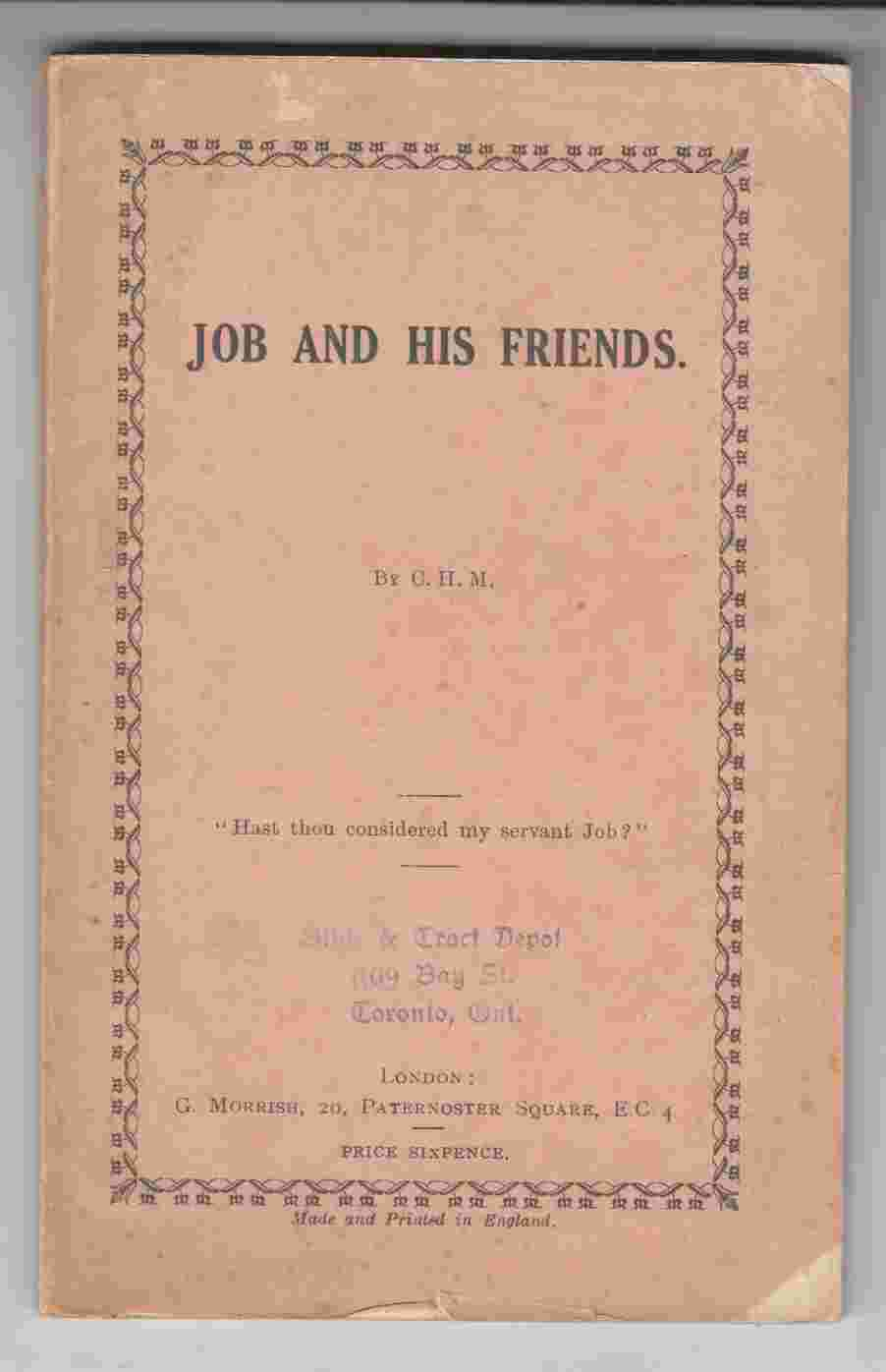 Image for Job and His Friends
