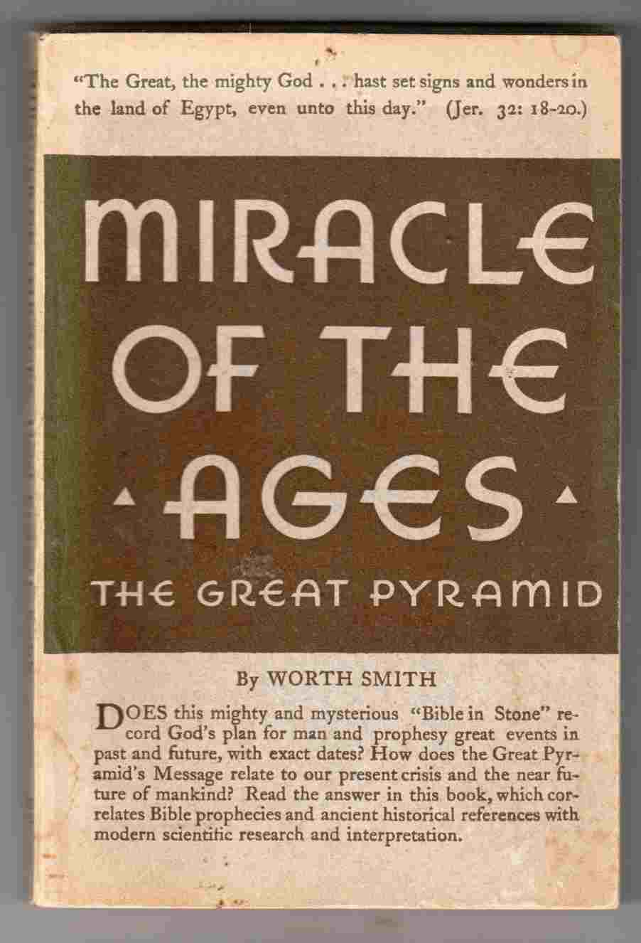 Image for Miracle of the Ages The Great Pyramid of Giza