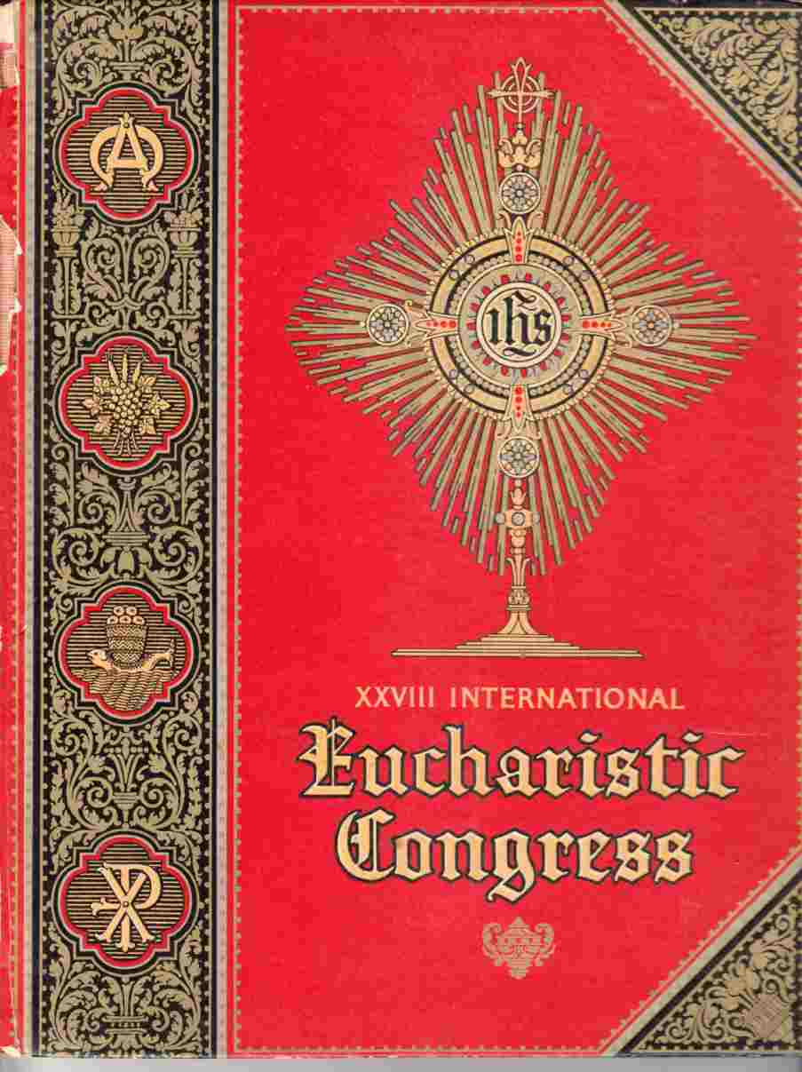 Image for XXVII International Eucharistic Congress June 20-24 1926 Chicago Ill.