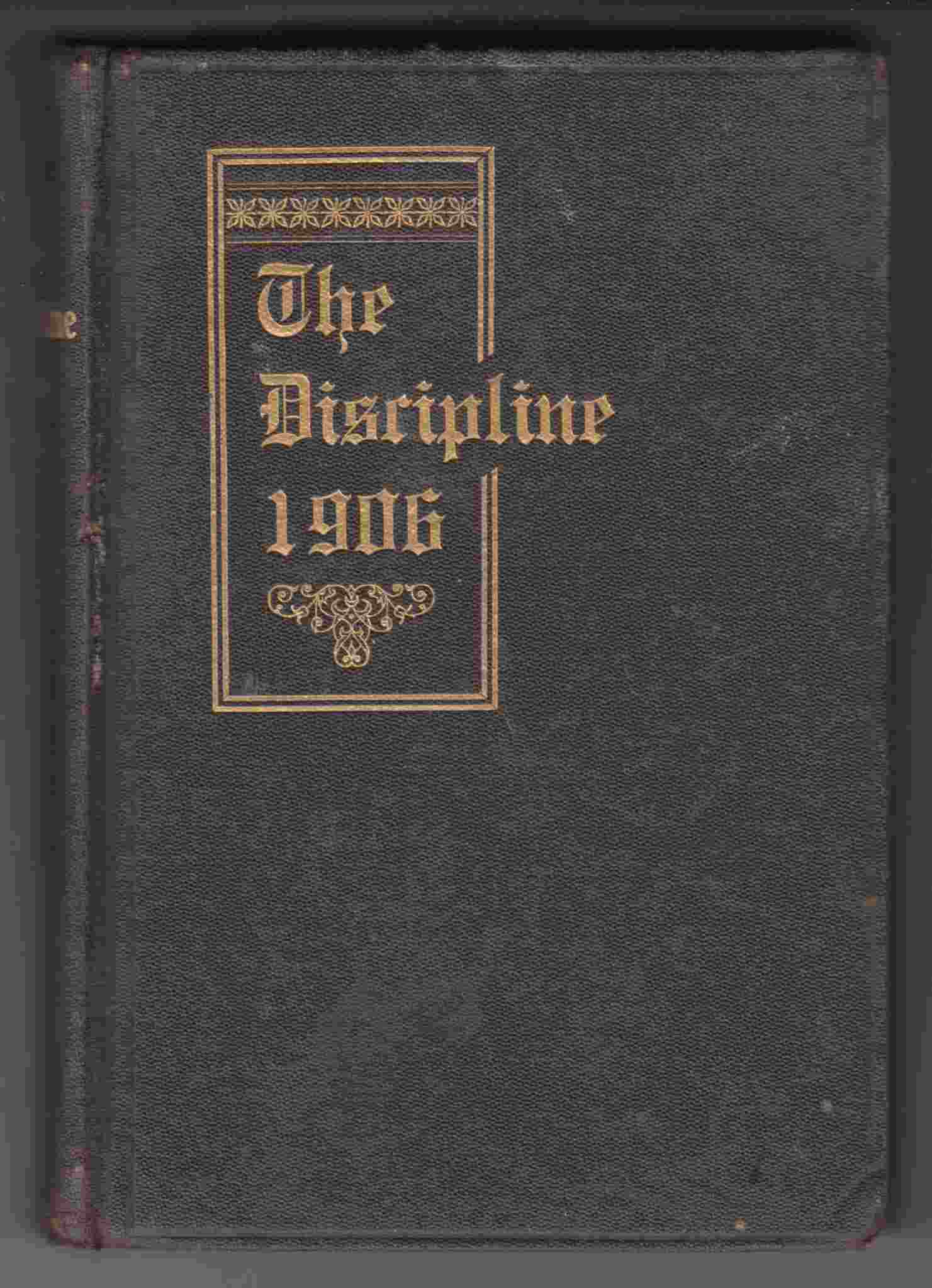 Image for The Doctrine and Discipline of the Methodist Church 1906