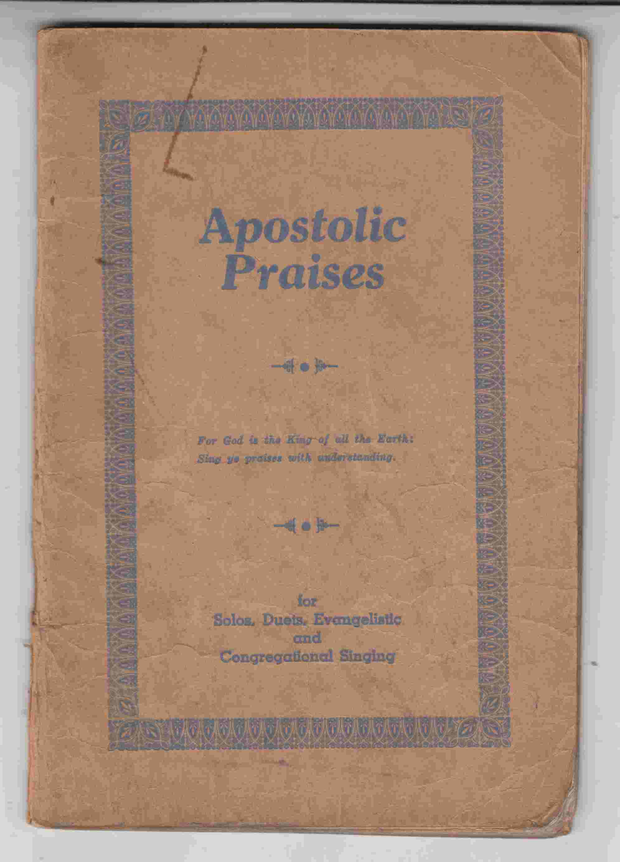 Image for Apostolic Praises