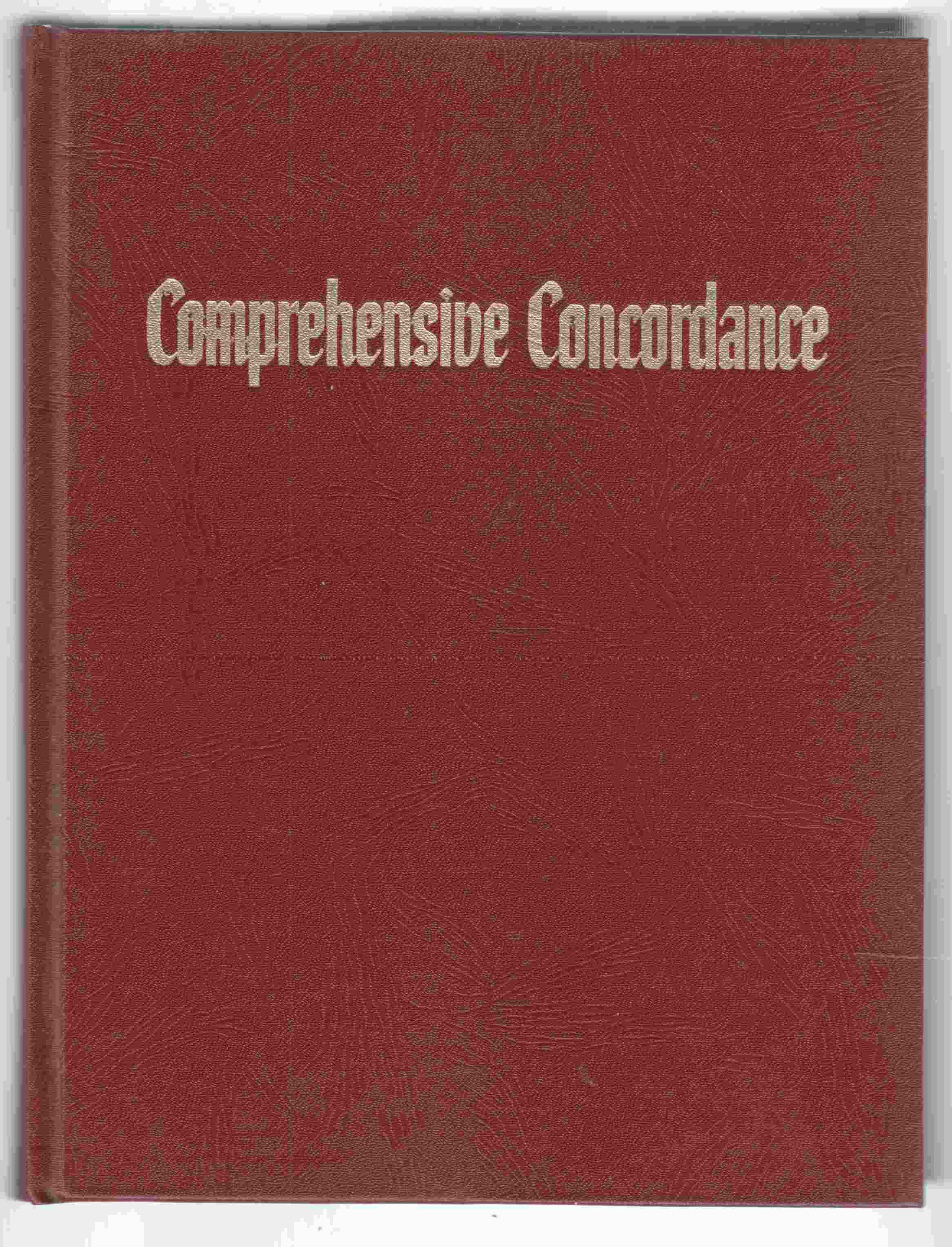 Image for Comprehensive Concordance of the New World Translation of the Holy Scriptures