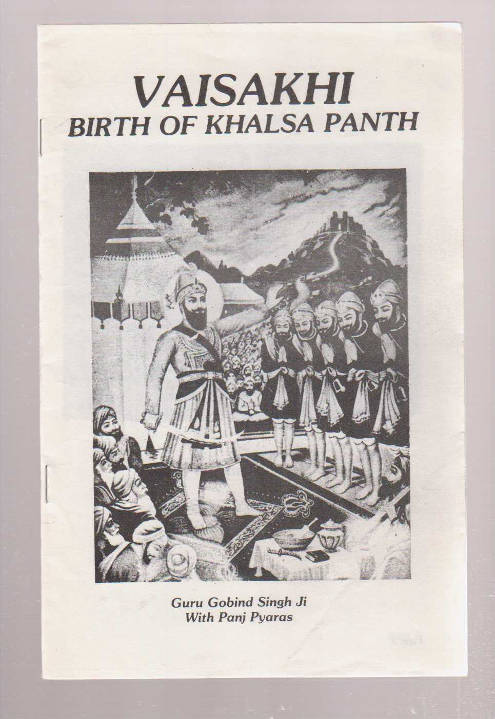 Image for Vaisakhi Birth of Khalsa Panth