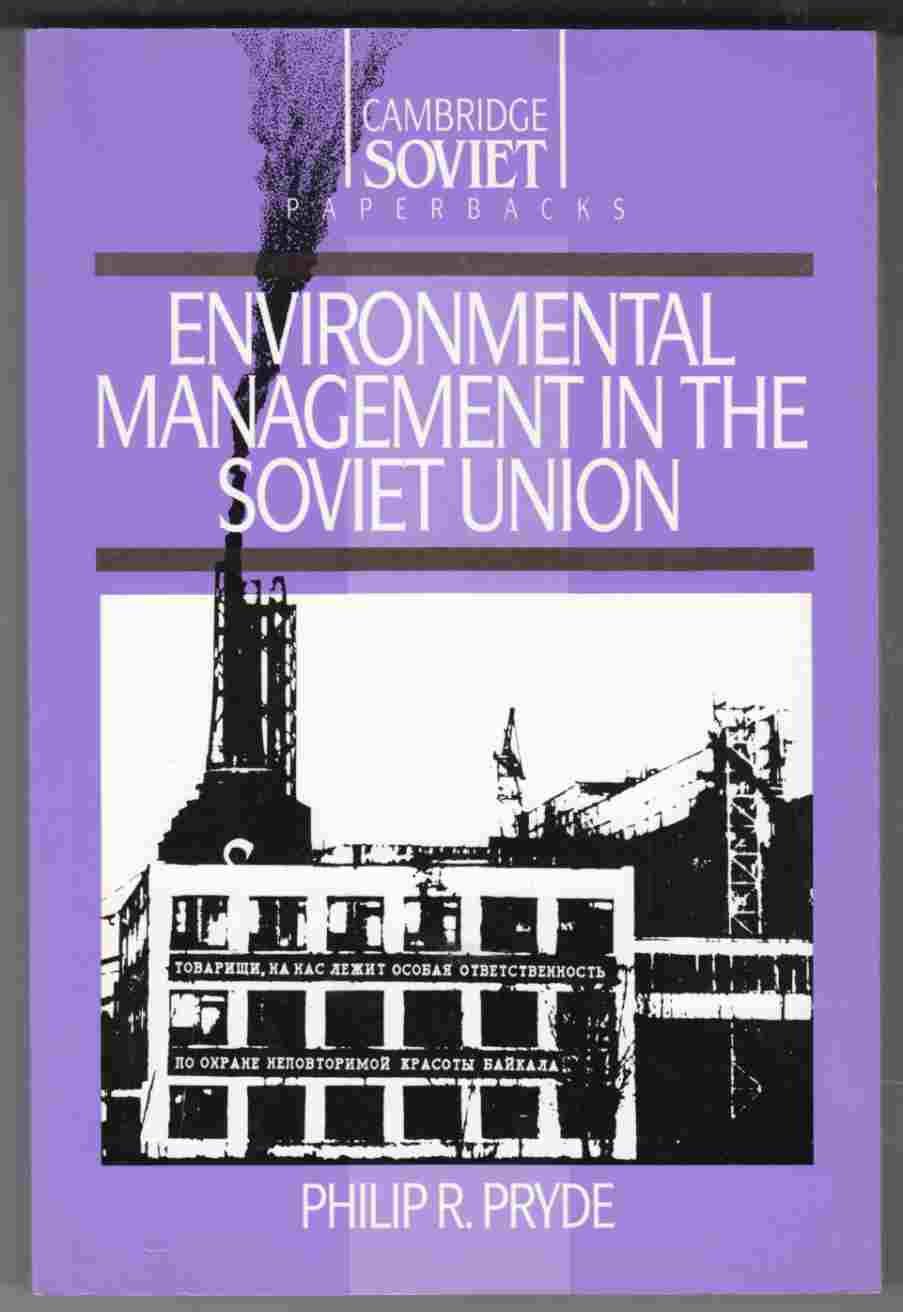 Image for Environmental Management in the Soviet Union