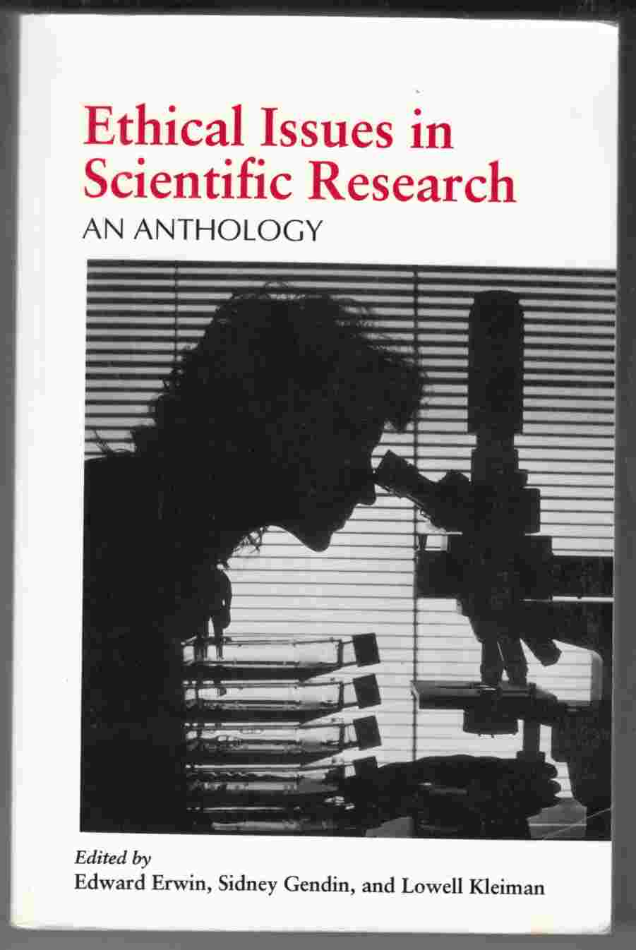 Image for Ethical Issues in Scientific Research: An Anthology