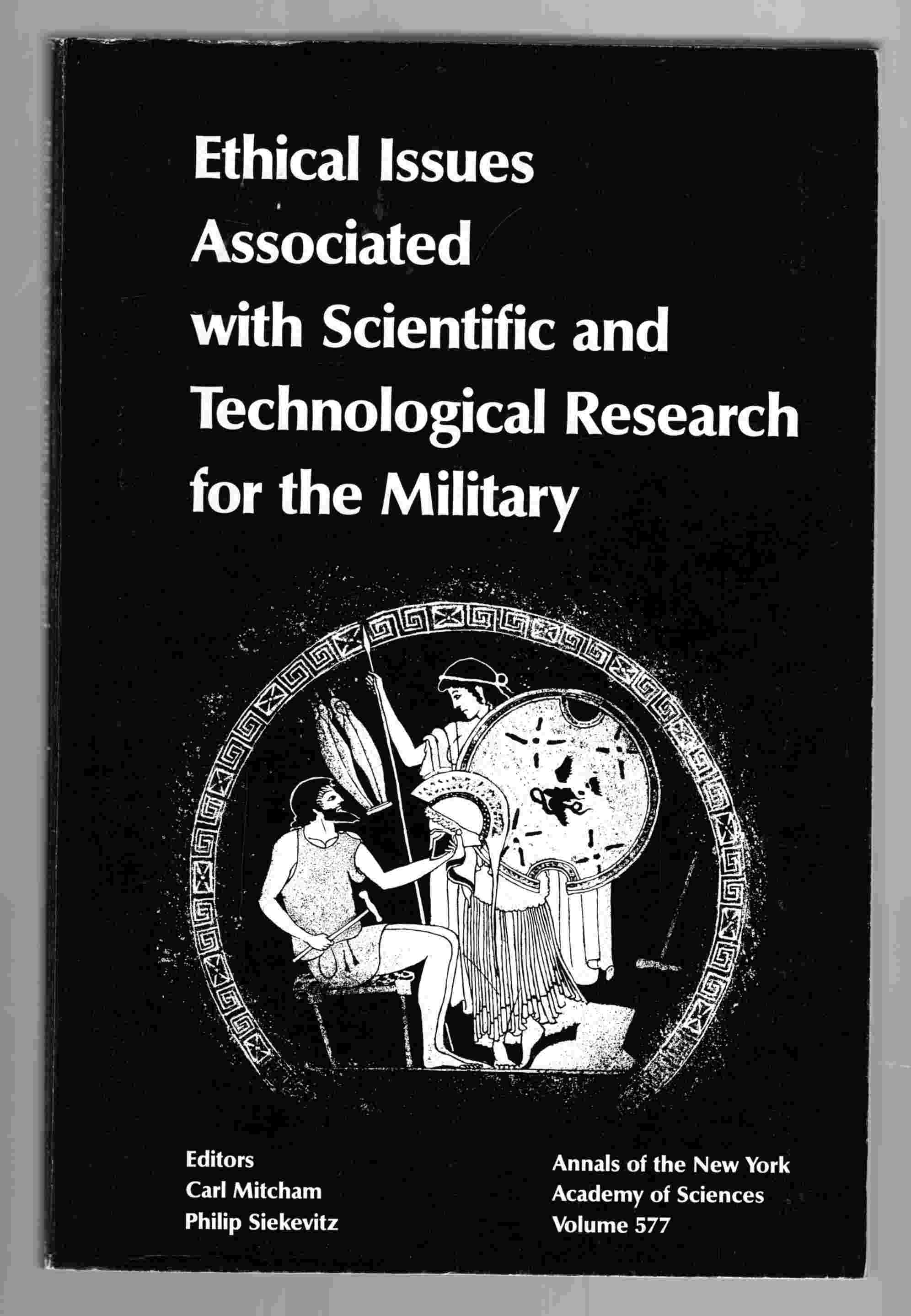 Image for Ethical Issues with Scientific and Technological Research for the Military