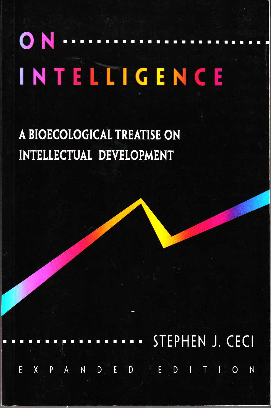 Image for On Intelligence A Biological Treastise on Intellectual Development; Expanded Edition