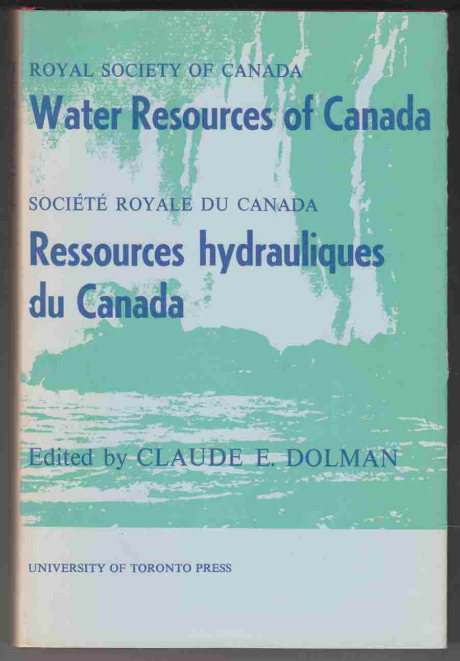 Image for Water Resources of Canada / Ressources Hydrauliques Du Canada