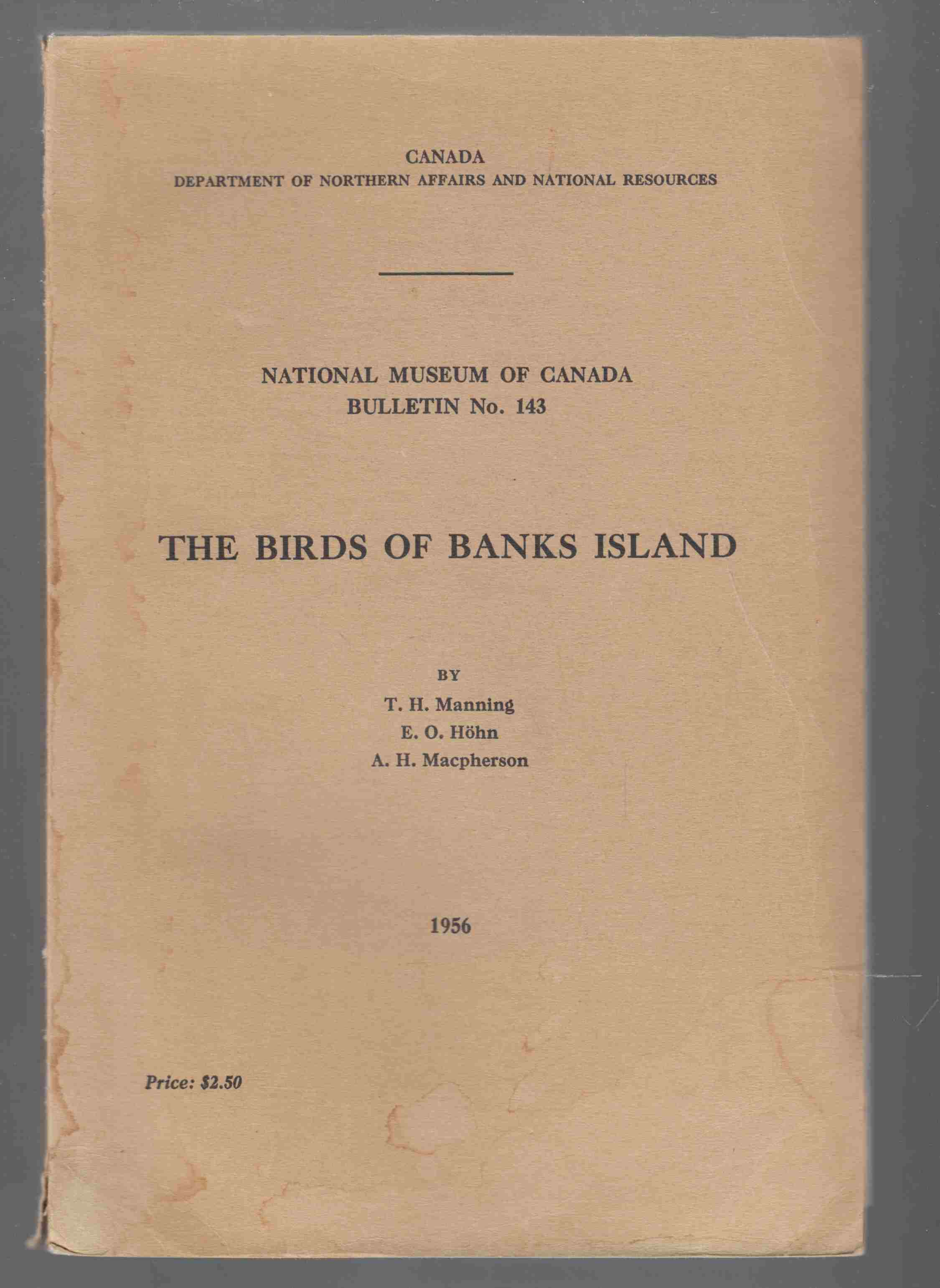 Image for The Birds of Banks Island