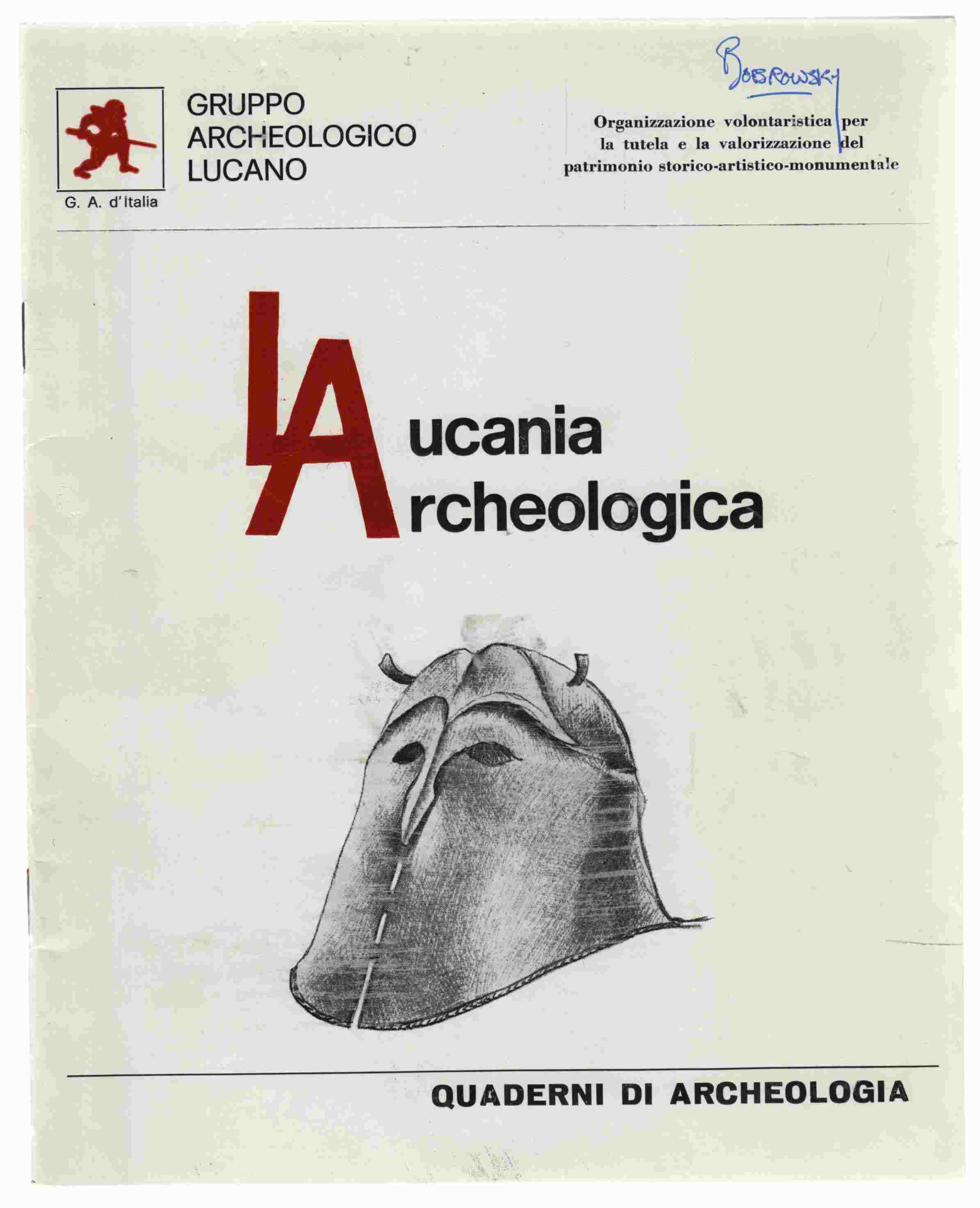 Image for Lucania Archaeologica Anno 1 - N. 1 - Dicembre 1976