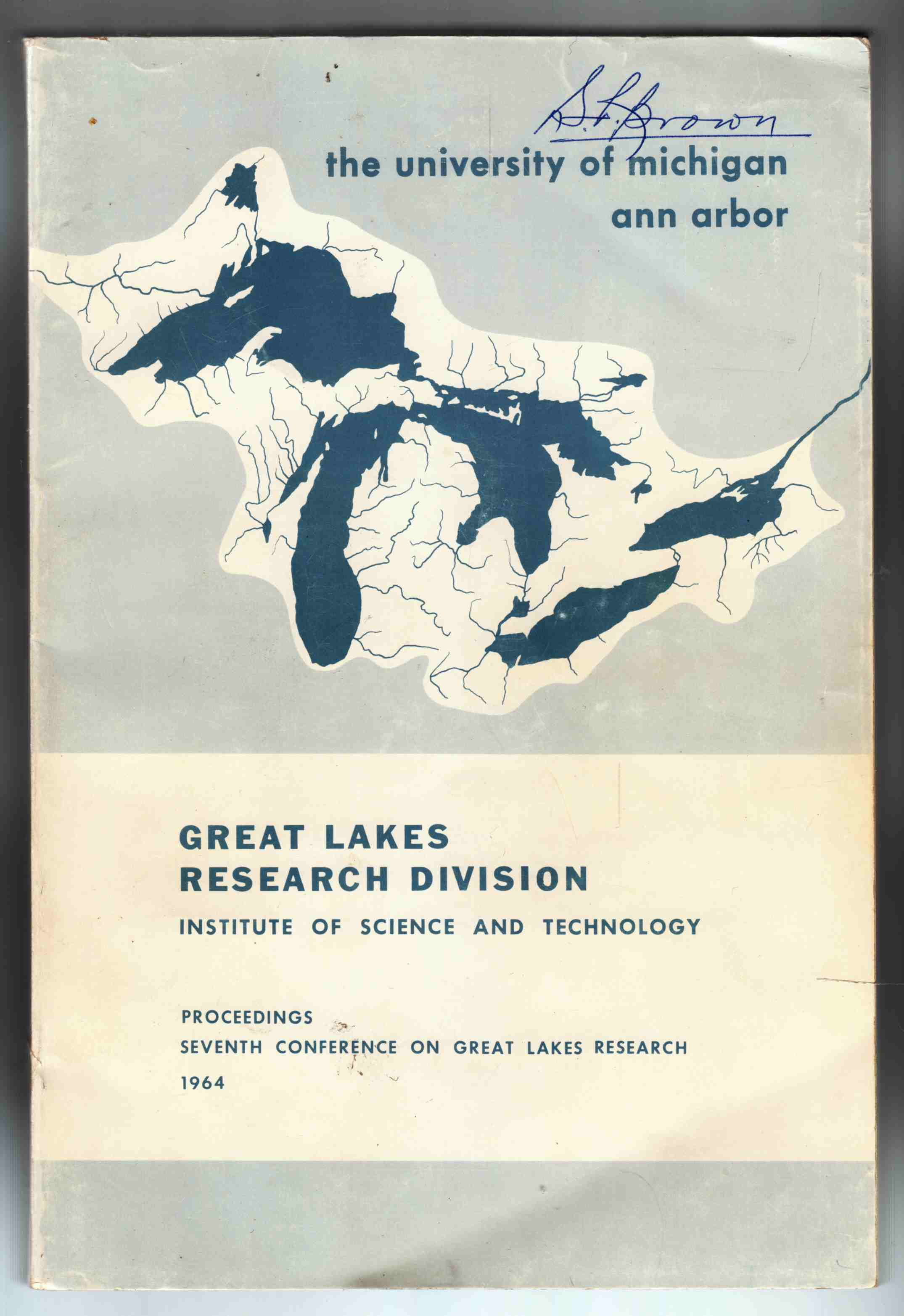 Image for Proceedings Seventh Conference on Great Lakes Research