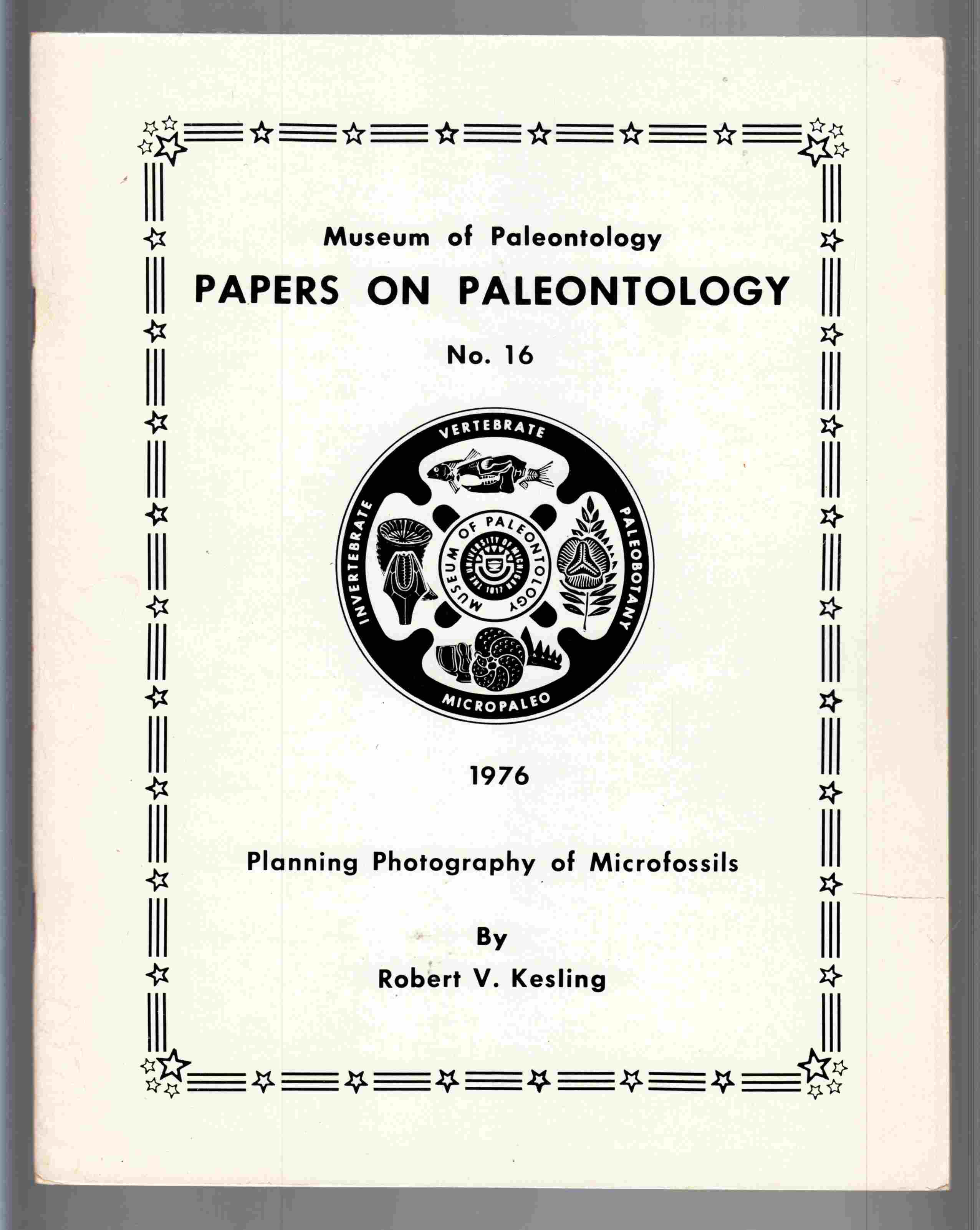 Image for Planning Photography of Micro Fossils