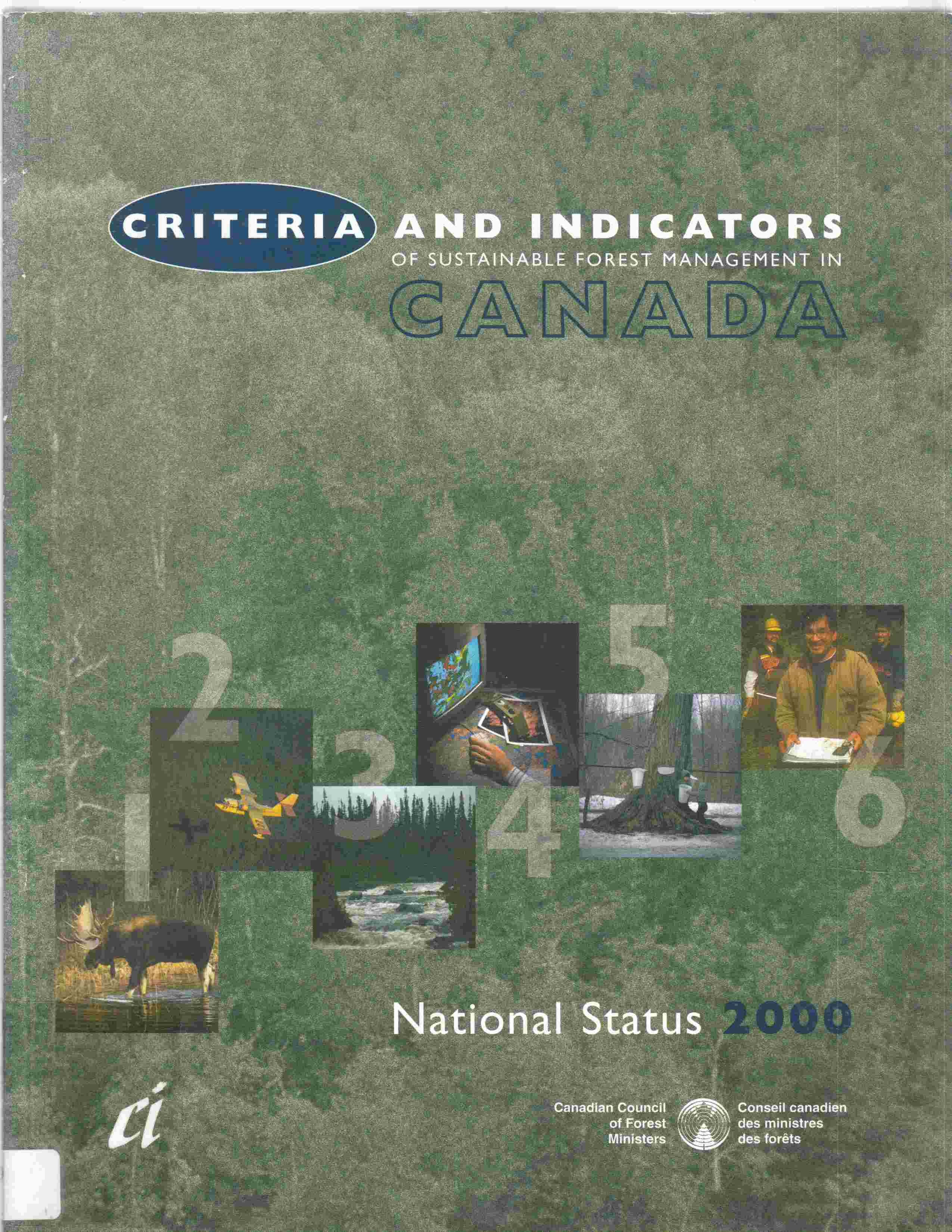 Image for Criteria and Indicators of Sustainable Forest Management in Canada National Status 2000