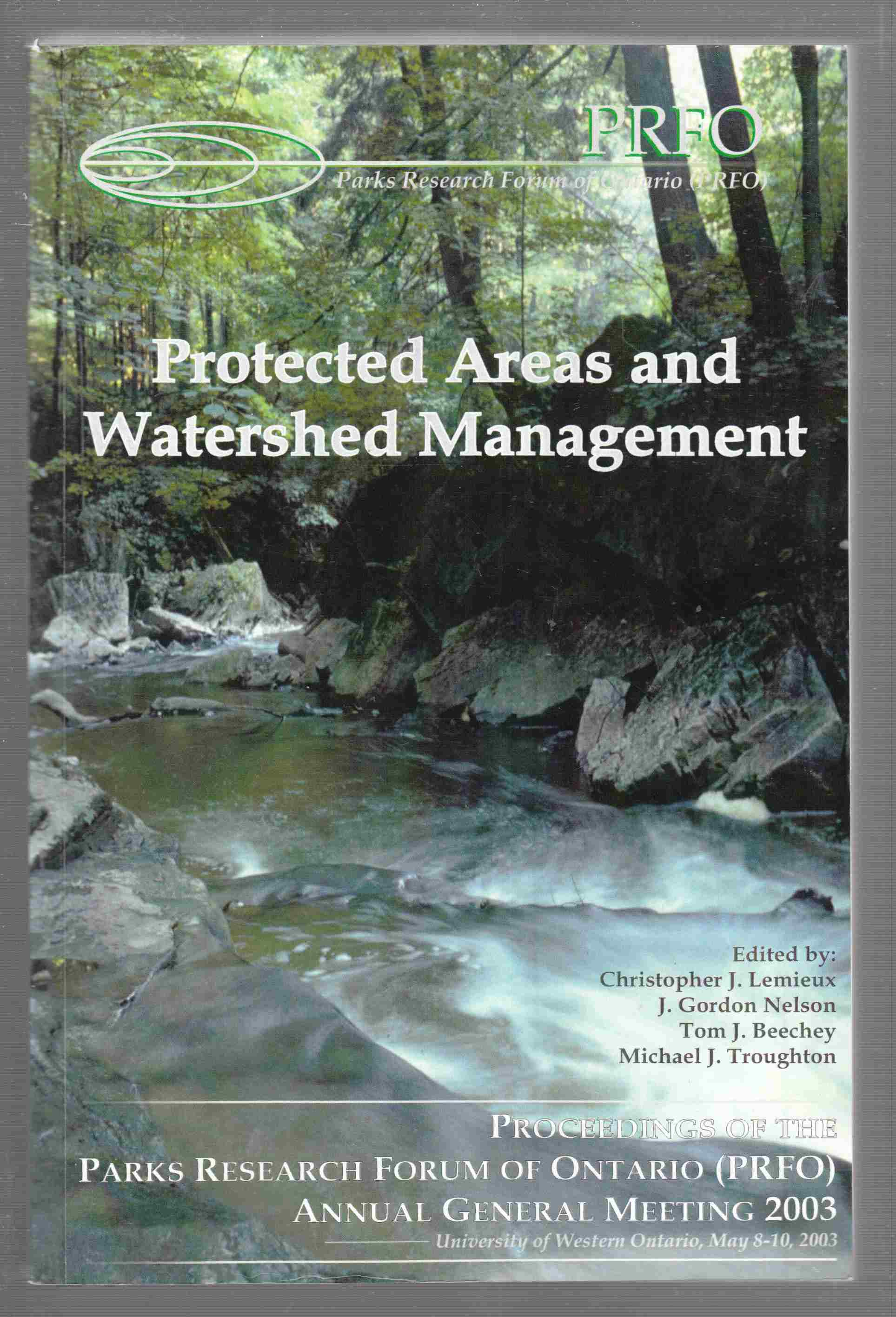 Image for Protected Areas and Water Management