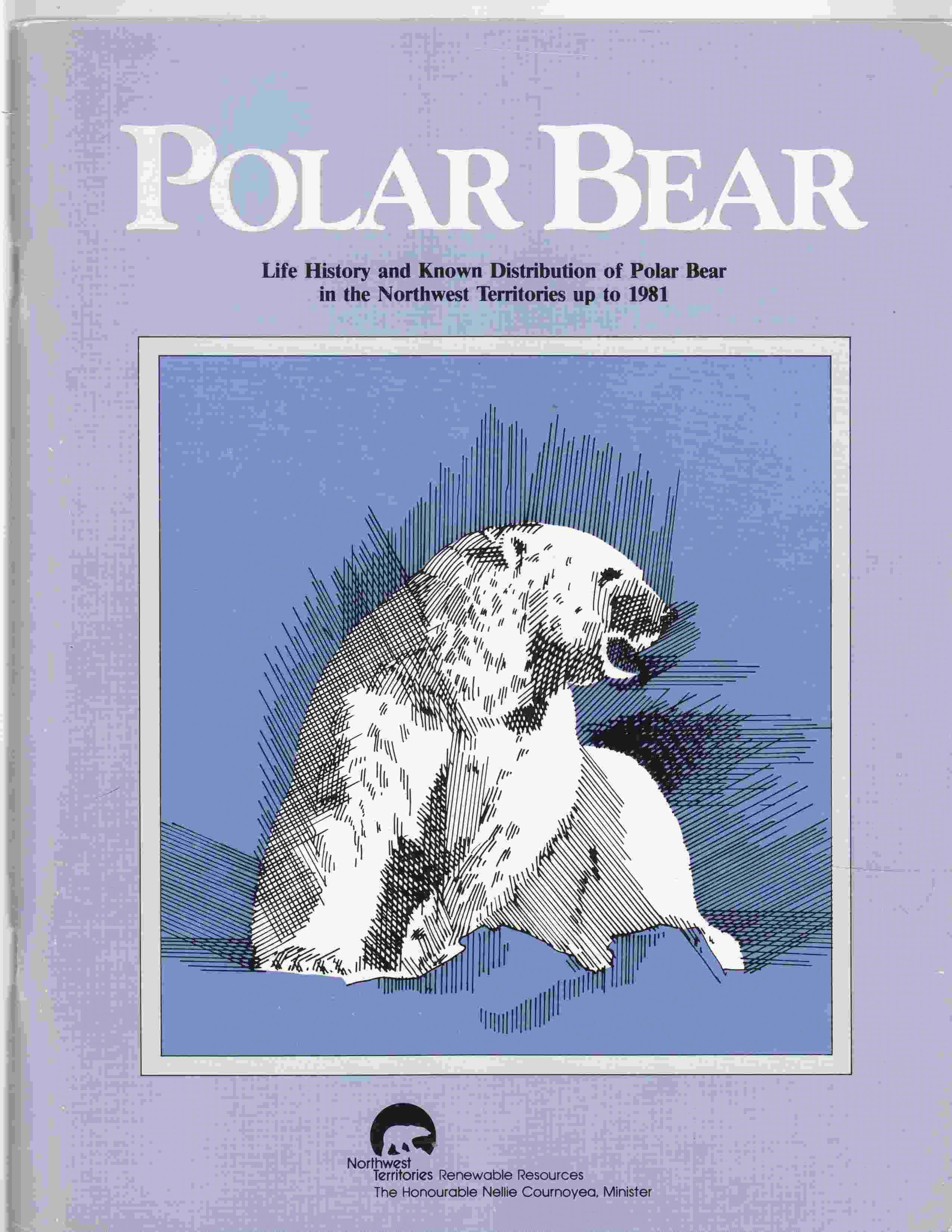 Image for Polar Bear Life History and Known Distribution of Polar Bear in the Northwest Territories Up to 1981