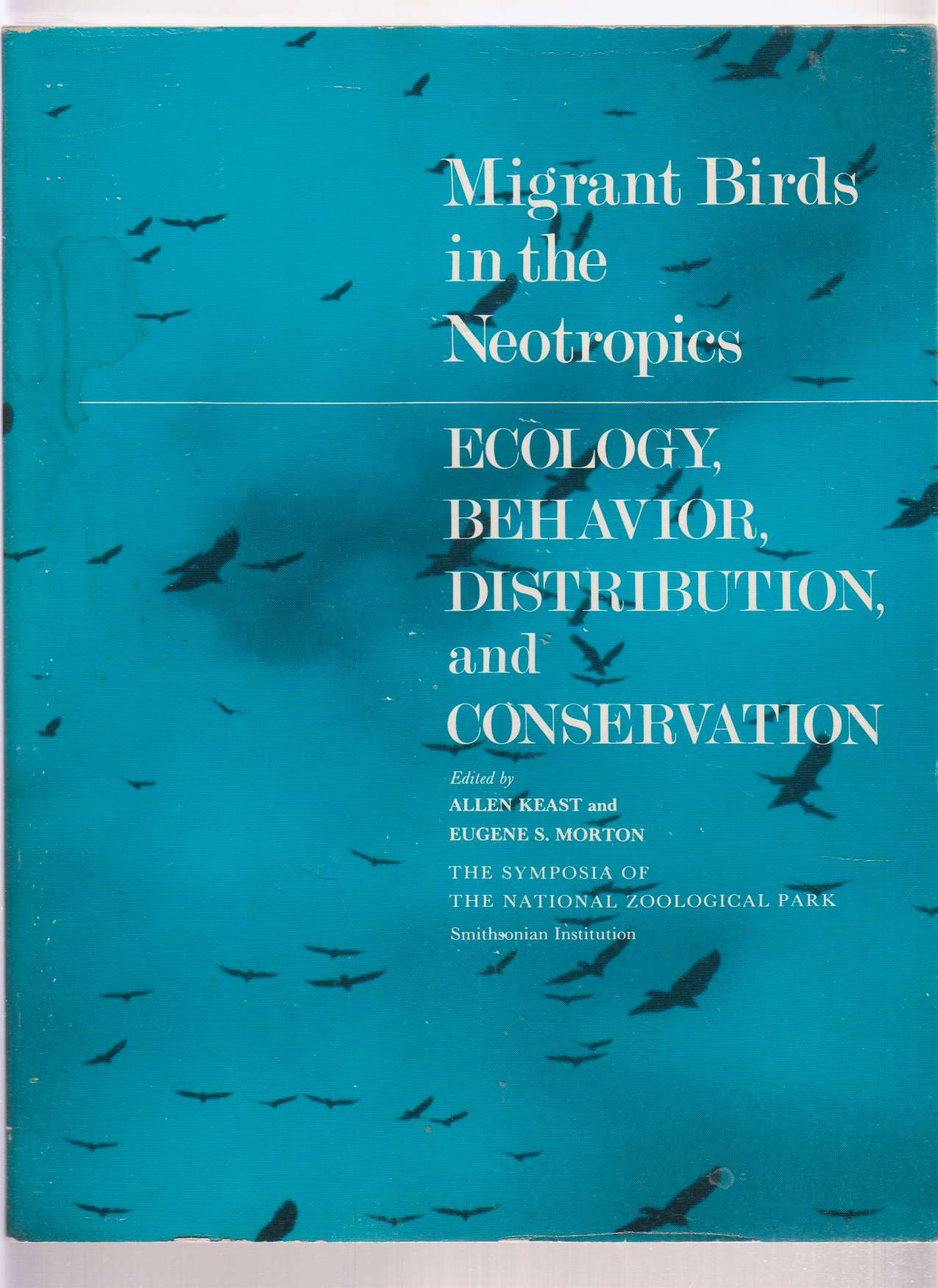 Image for Migrant Birds in the Neotropics  Ecology, Behavior, Distribution and Conservation