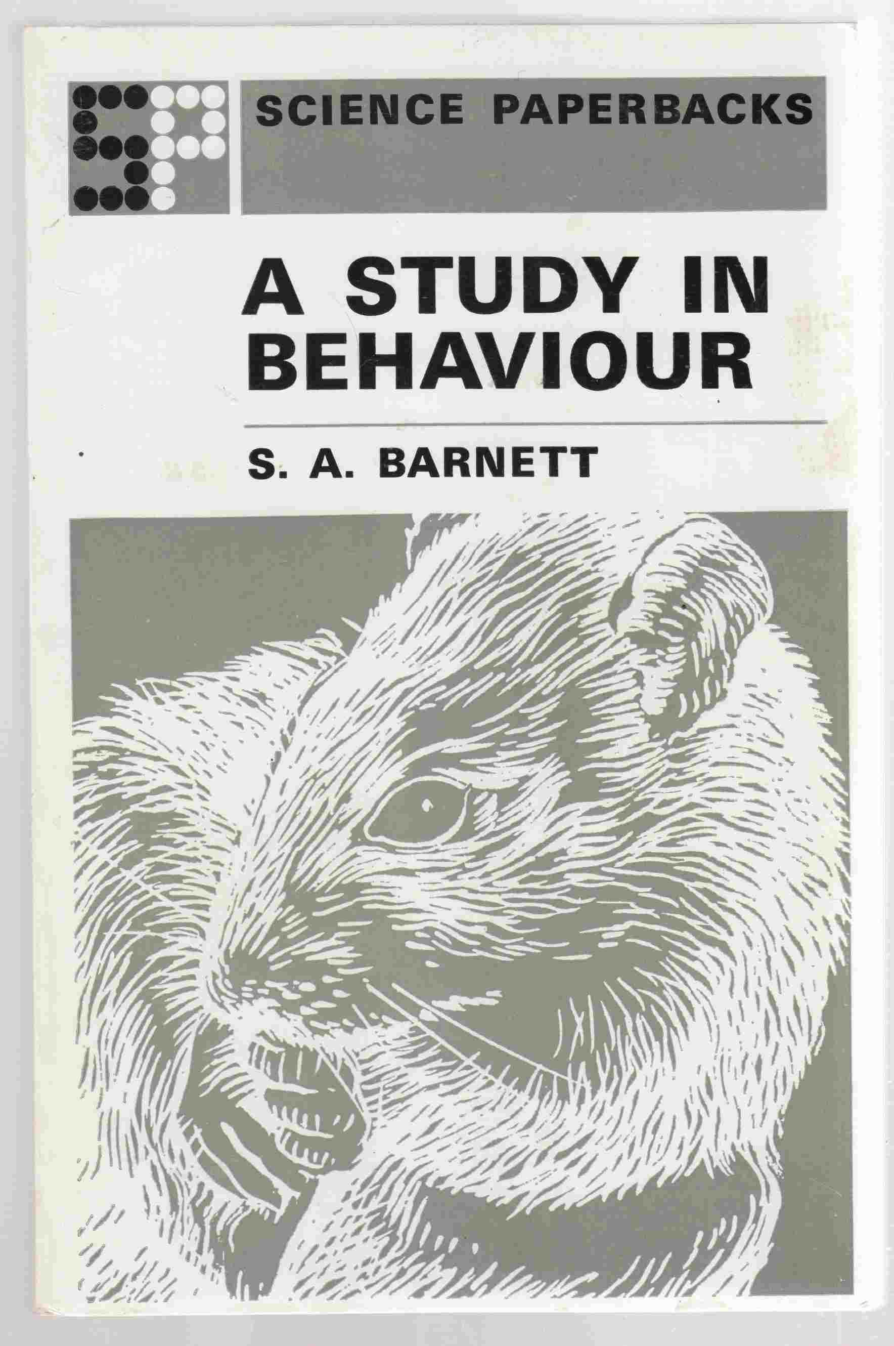 Image for Study in Behaviour Principles of Ethology and Behavioural Physiology, Displayed Mainly in the Rat