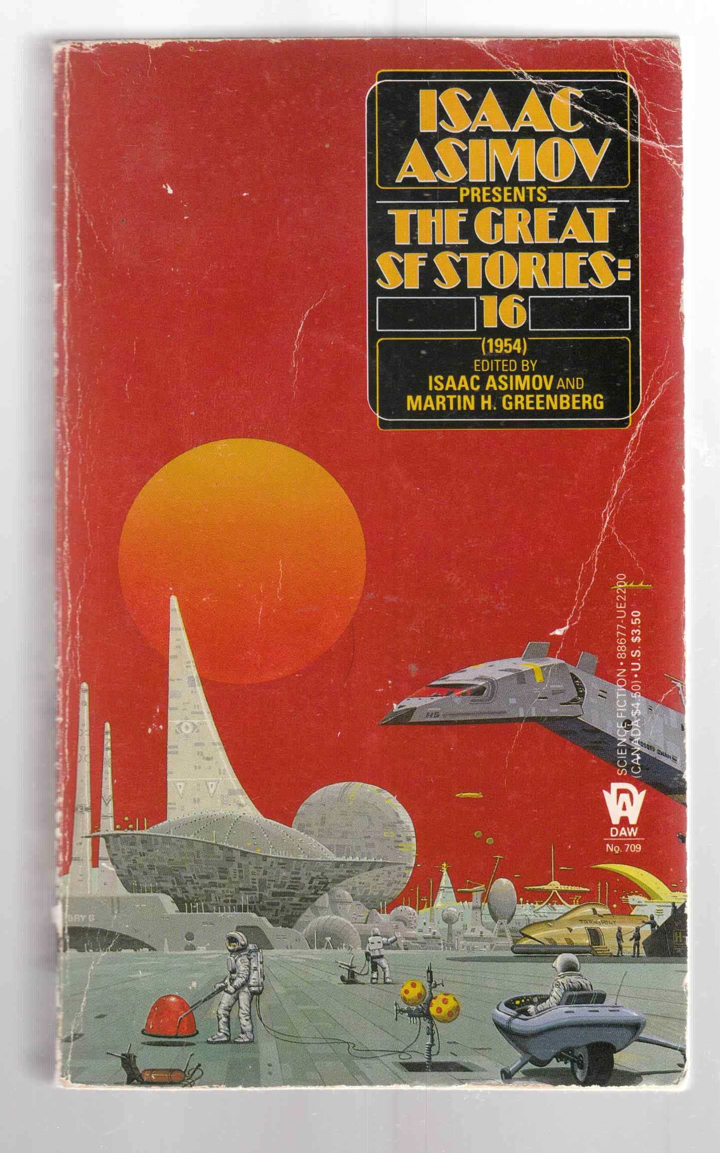 Image for Isaac Asimov Presents the Great SF Stories: 16 (1954)