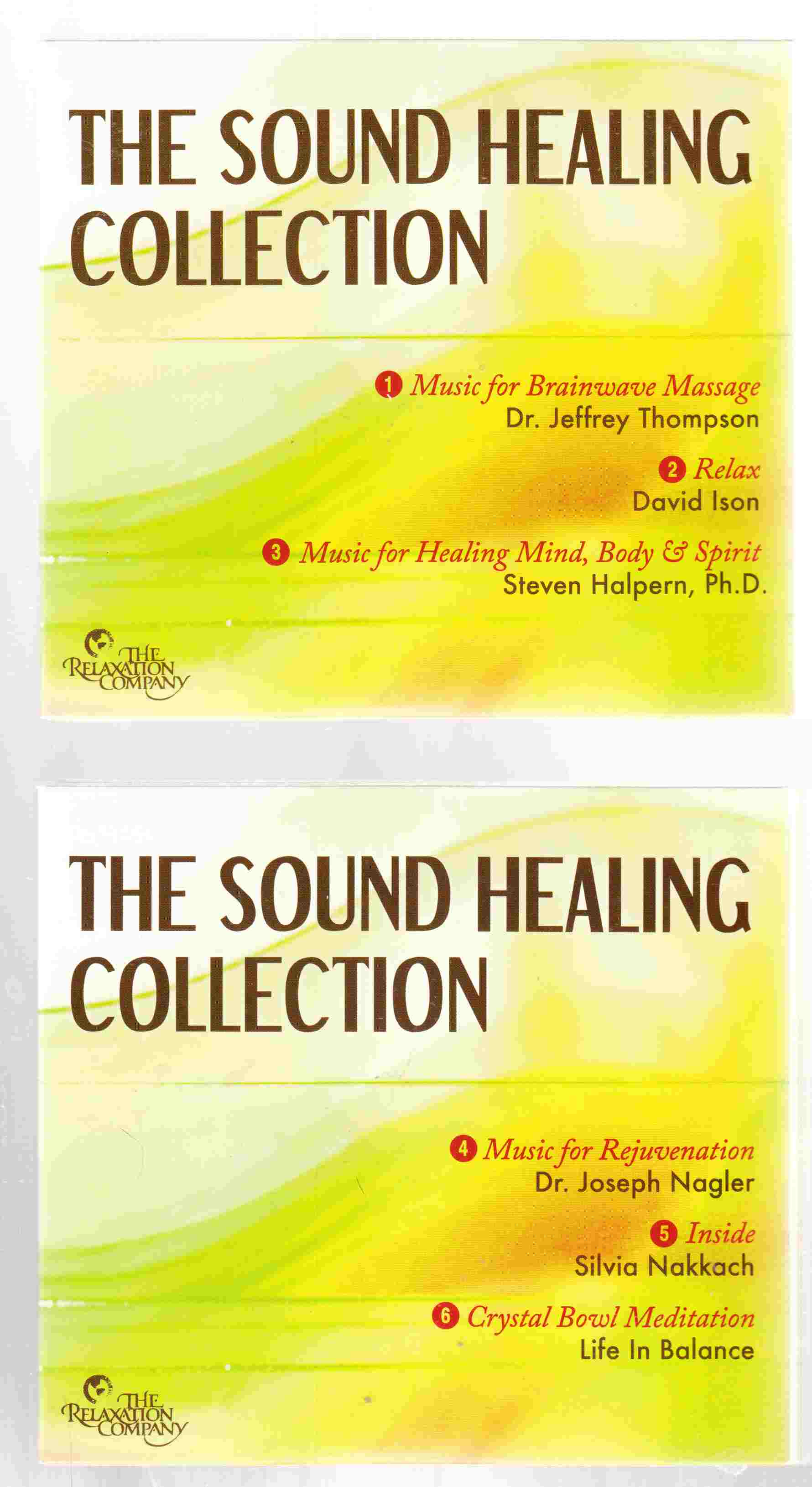 Image for The Sound Healing Collection